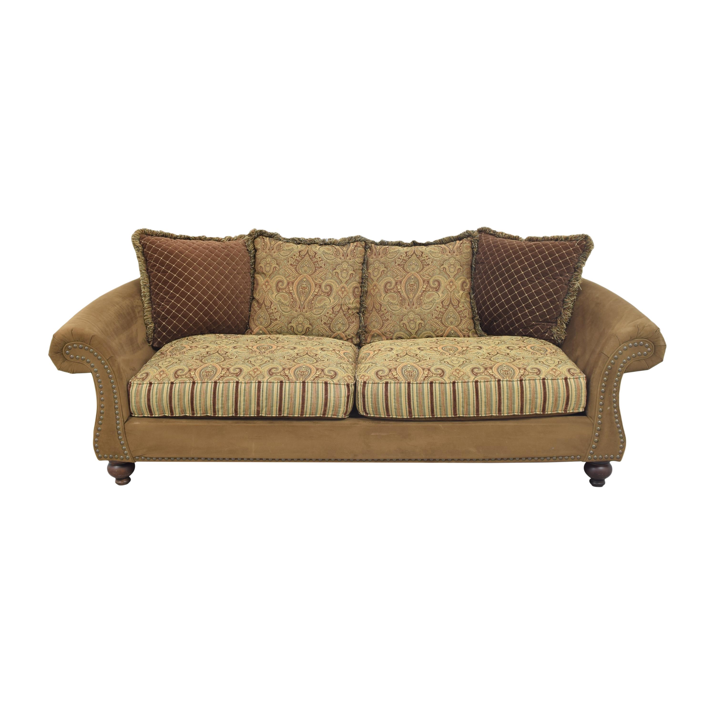 Raymour & Flanigan Raymour & Flanigan Valencia Sofa by Cindy Crawford Home  dimensions