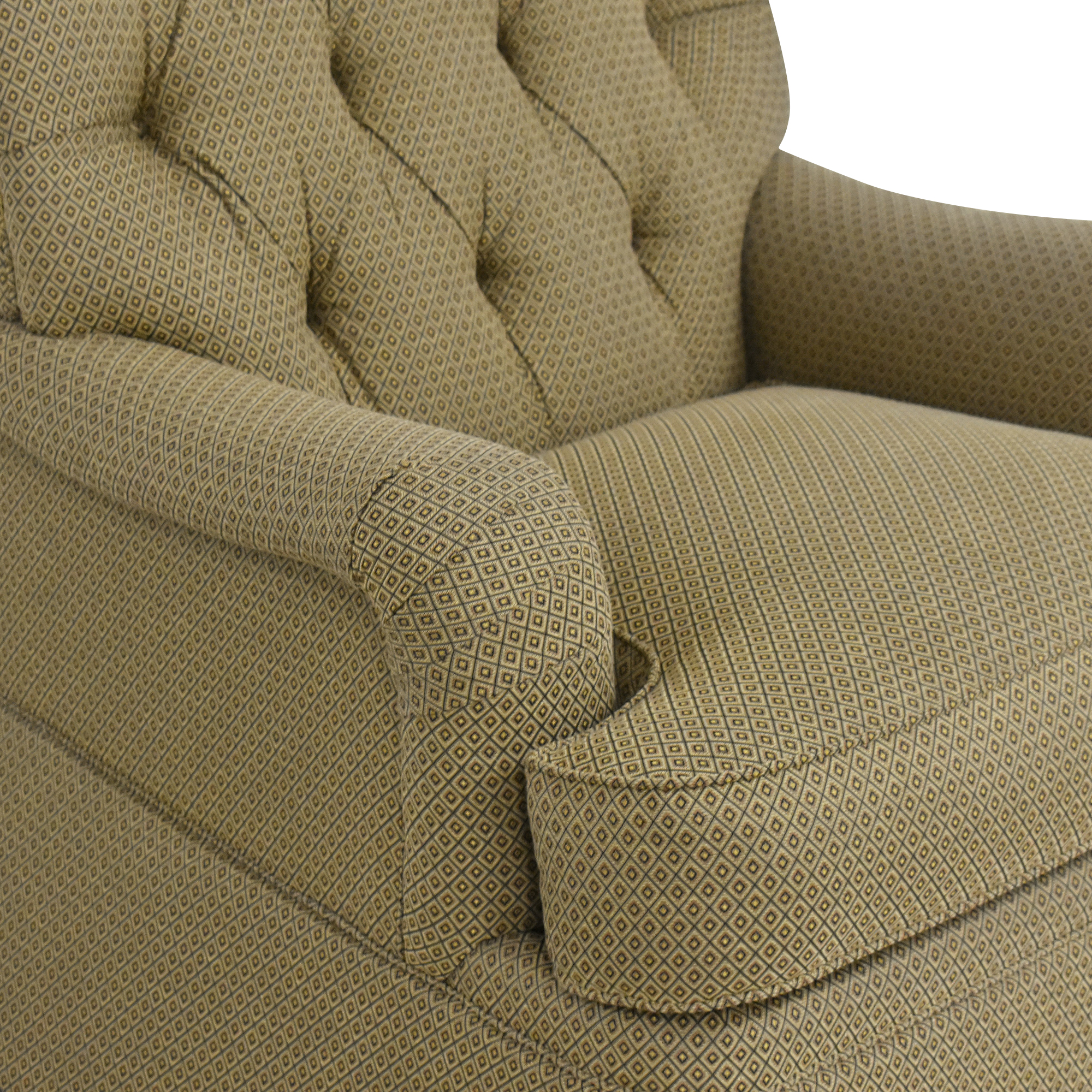 shop Henredon Furniture Scroll Back Accent Chair Henredon Furniture Chairs