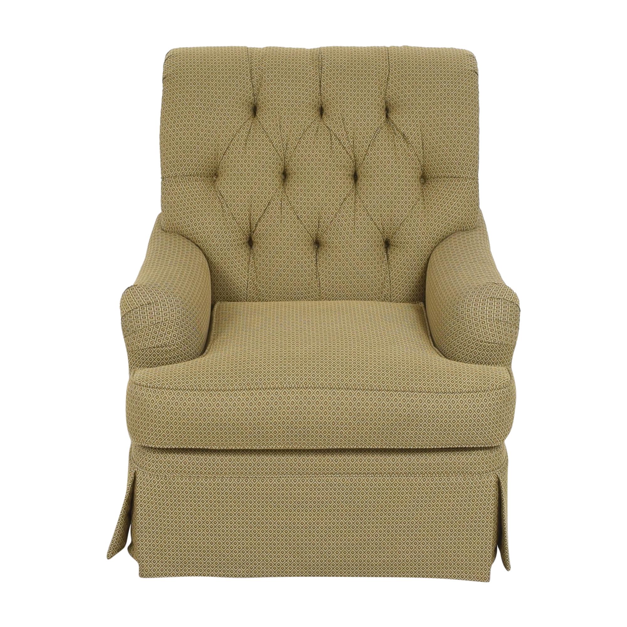 Henredon Furniture Henredon Furniture Scroll Back Accent Chair nj