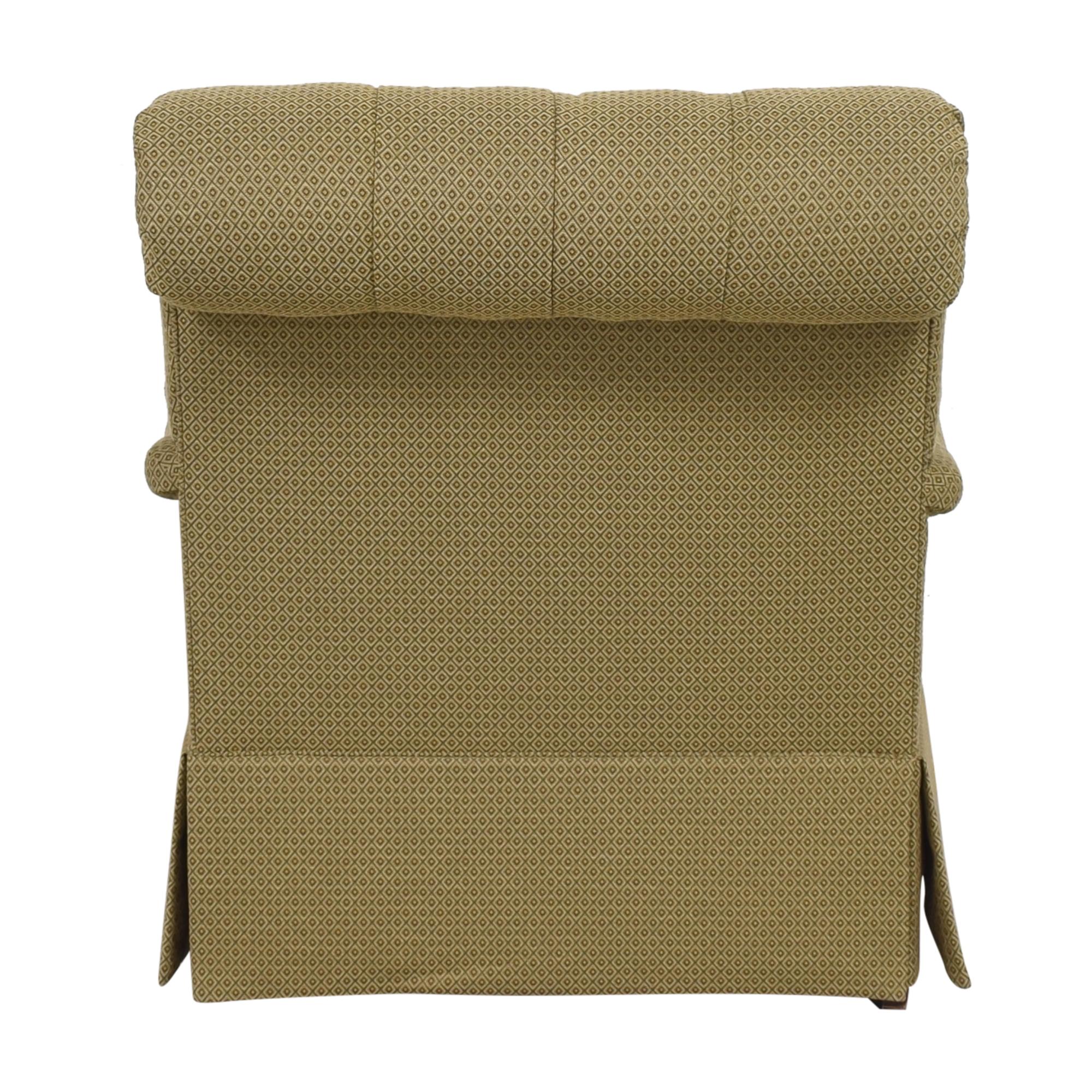 Henredon Furniture Henredon Furniture Scroll Back Accent Chair nyc