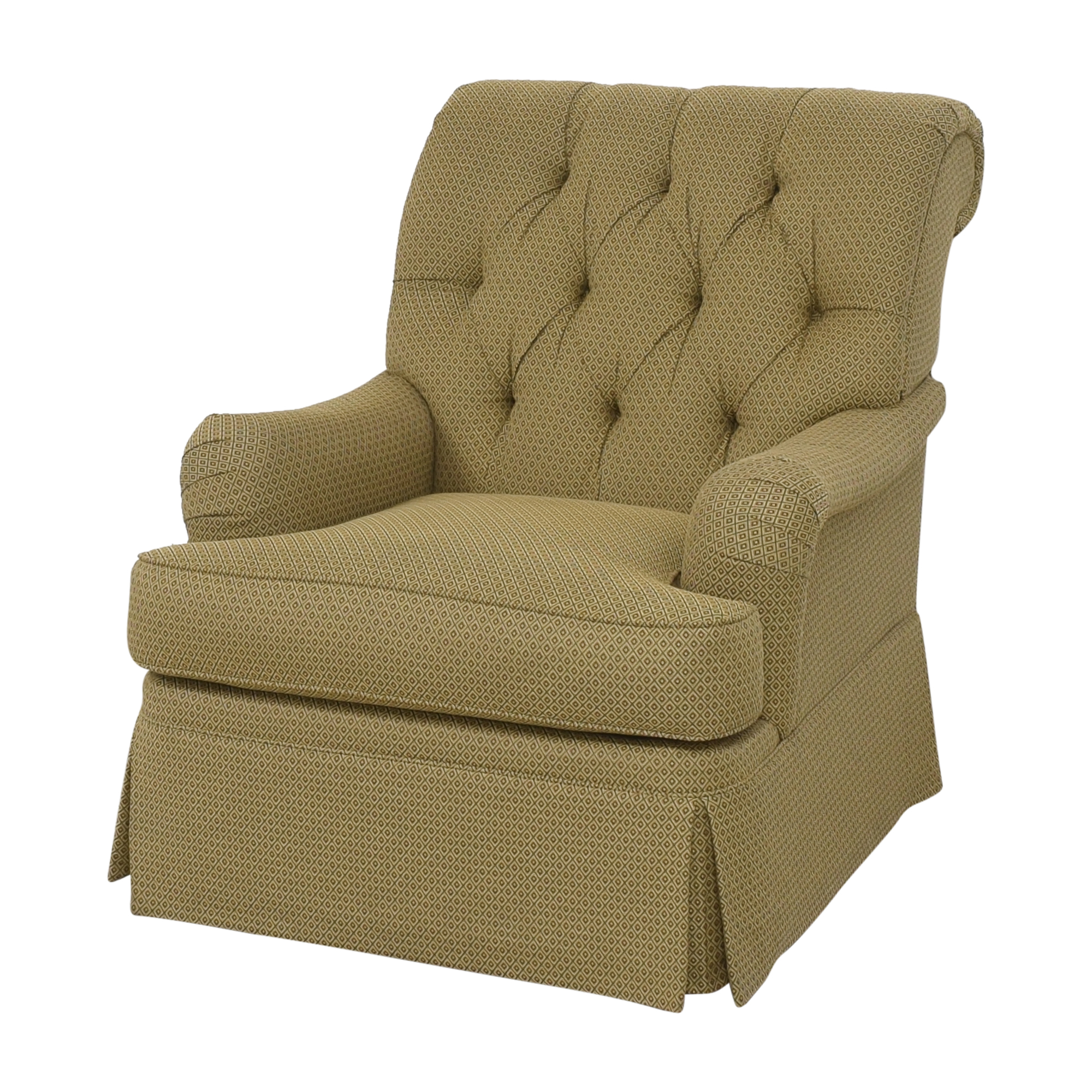 Henredon Furniture Henredon Furniture Scroll Back Accent Chair Chairs