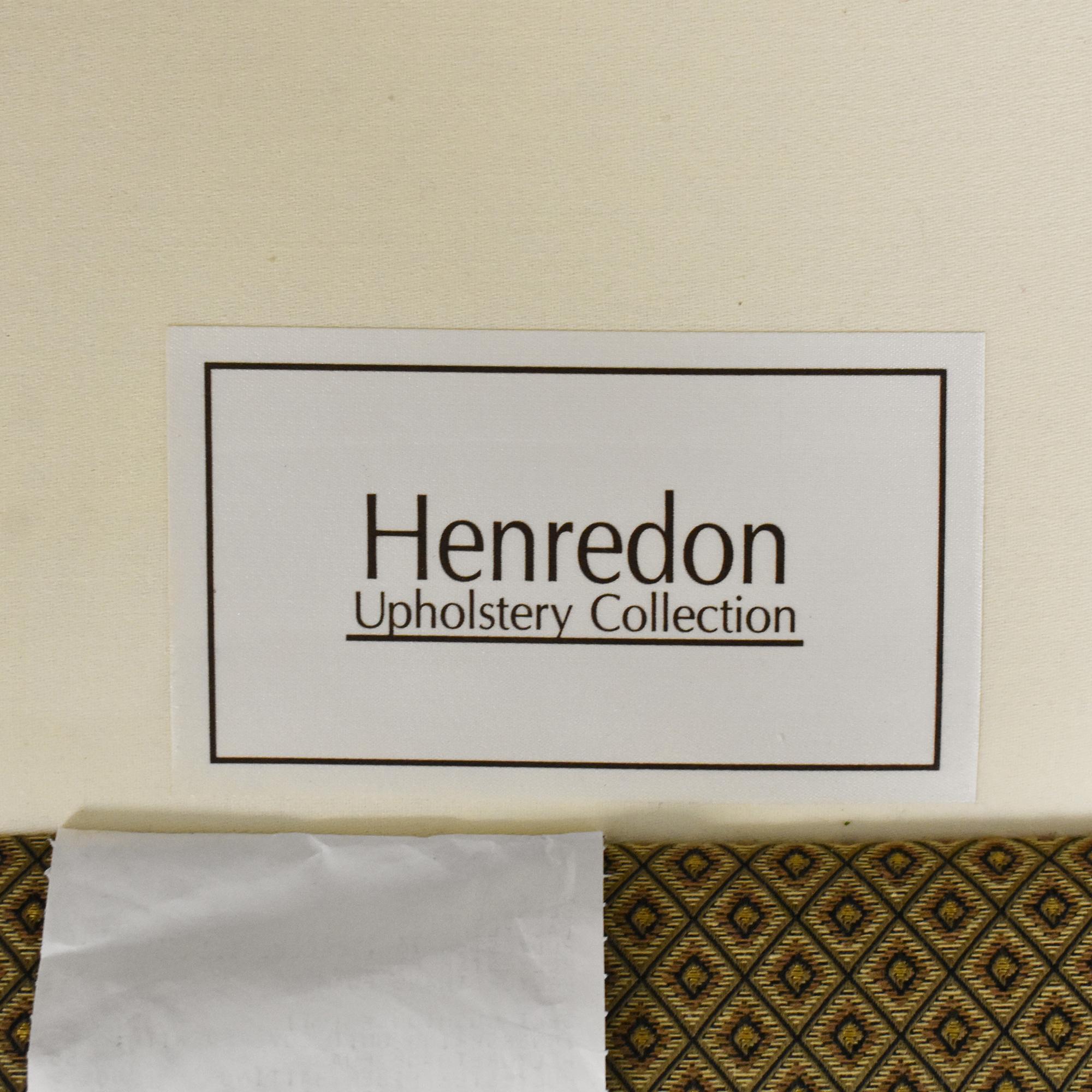 Henredon Furniture Henredon Furniture Scroll Back Accent Chair ct