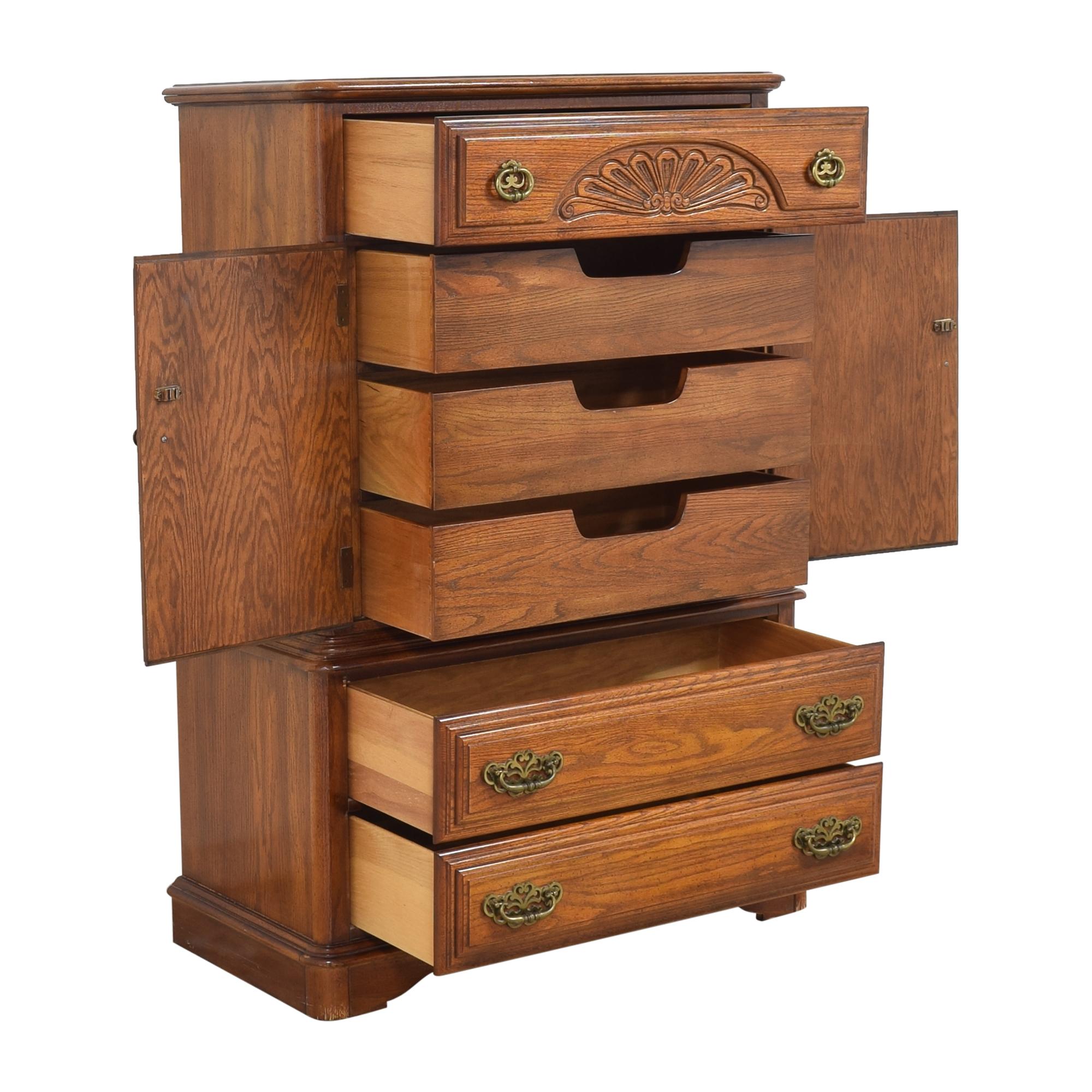 buy Sumter Cabinet Co. Door Dresser Sumter Cabinet Co. Dressers
