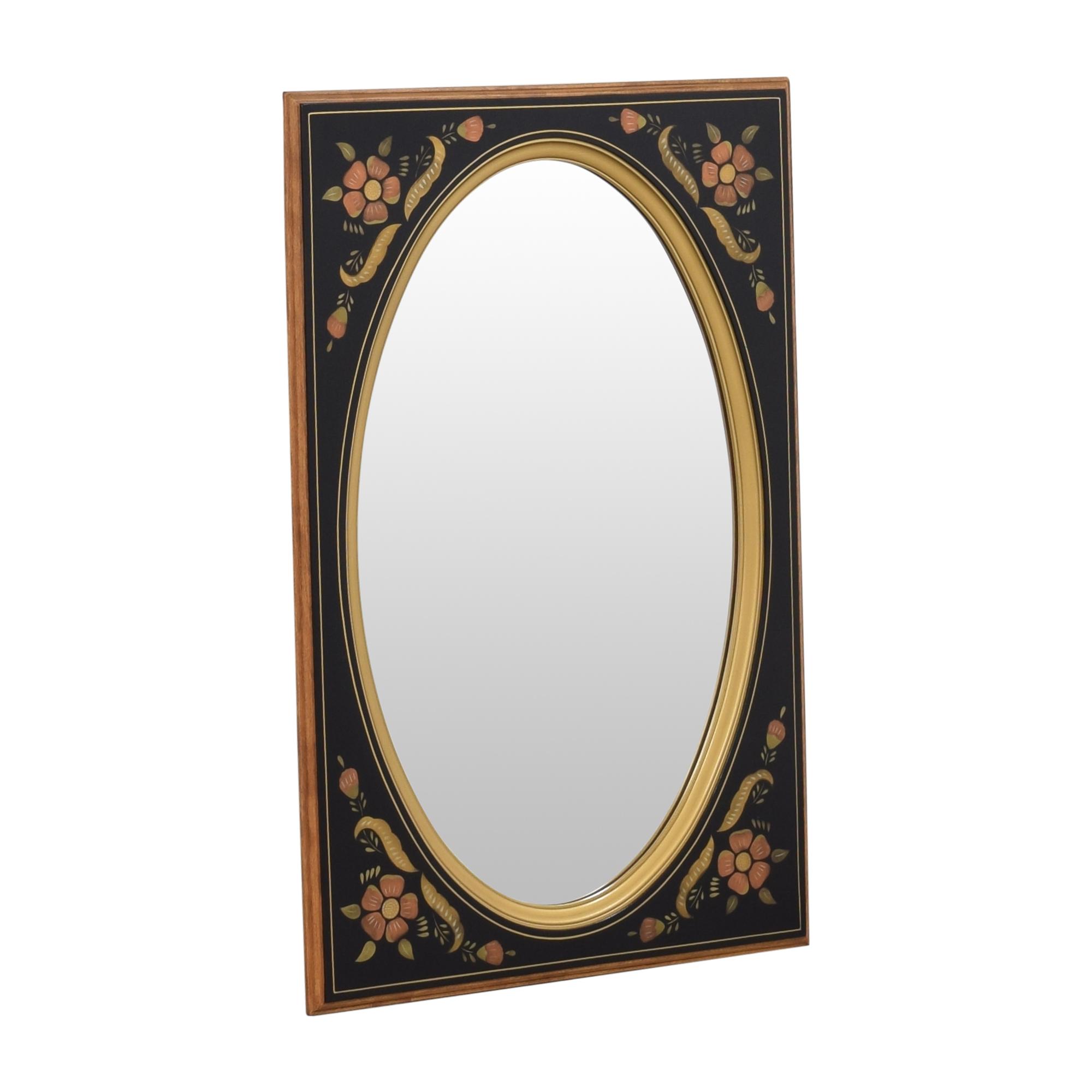 Ethan Allen Ethan Allen Floral Wall Mirror nj
