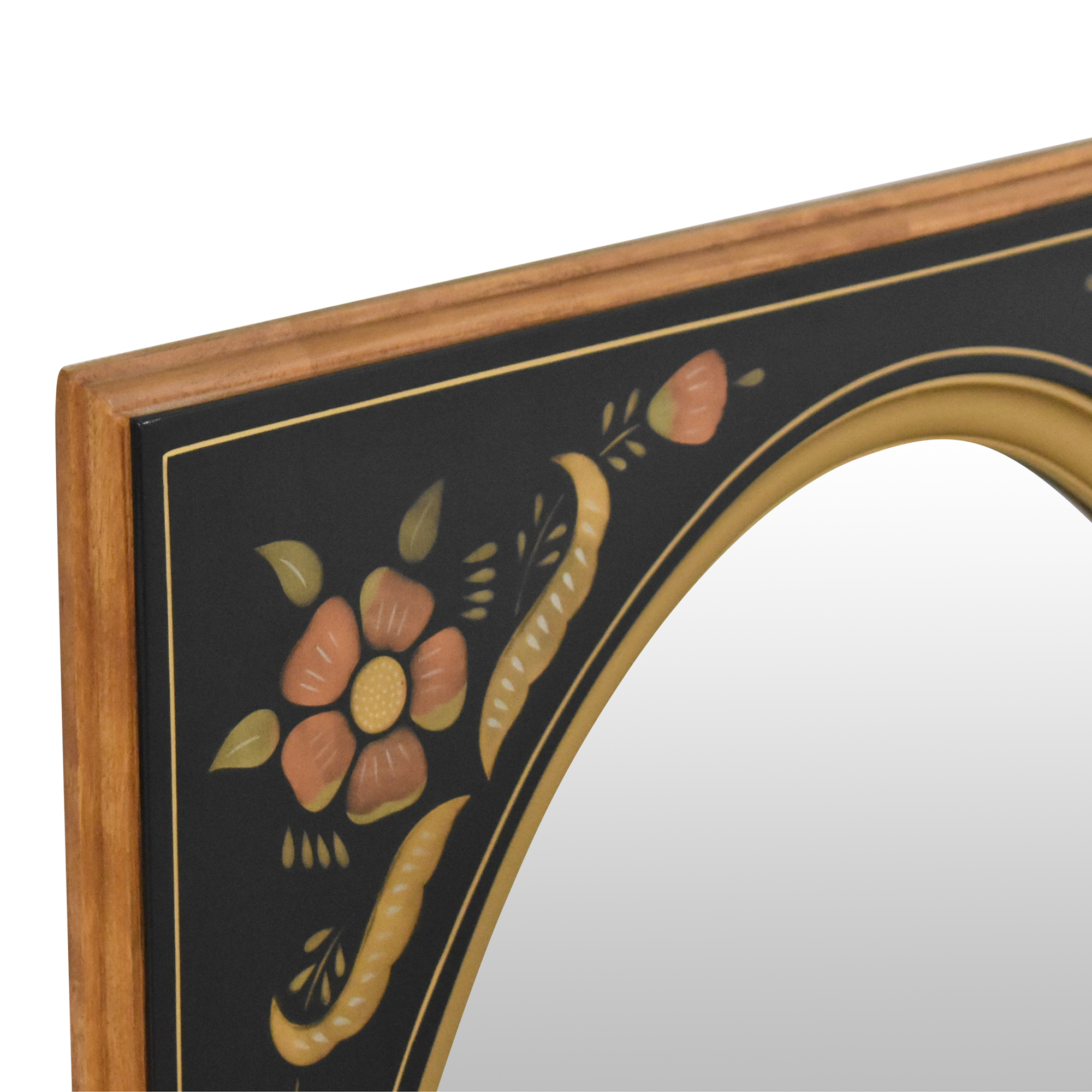 Ethan Allen Ethan Allen Floral Wall Mirror used