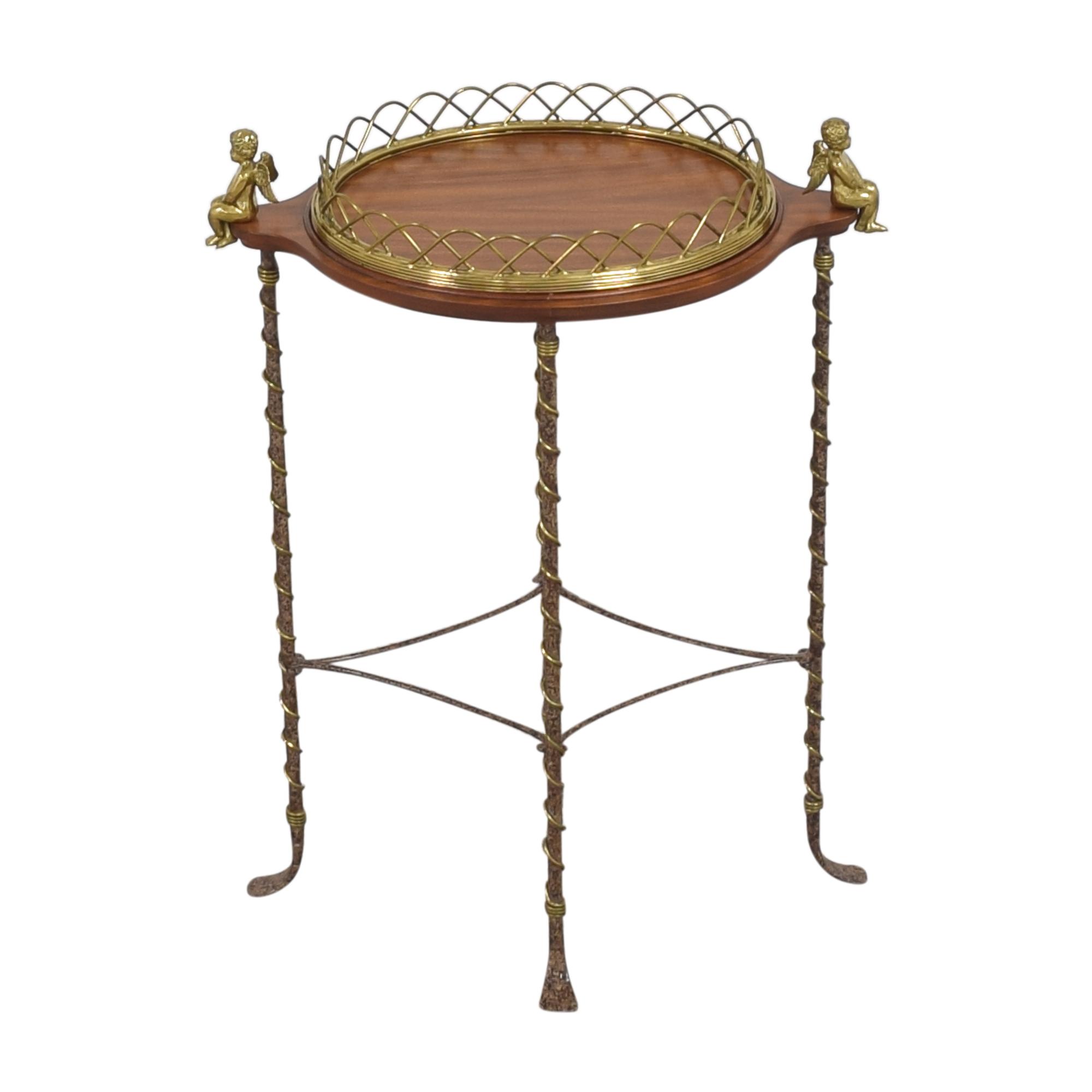 La Barge La Barge Cherub Side Table for sale