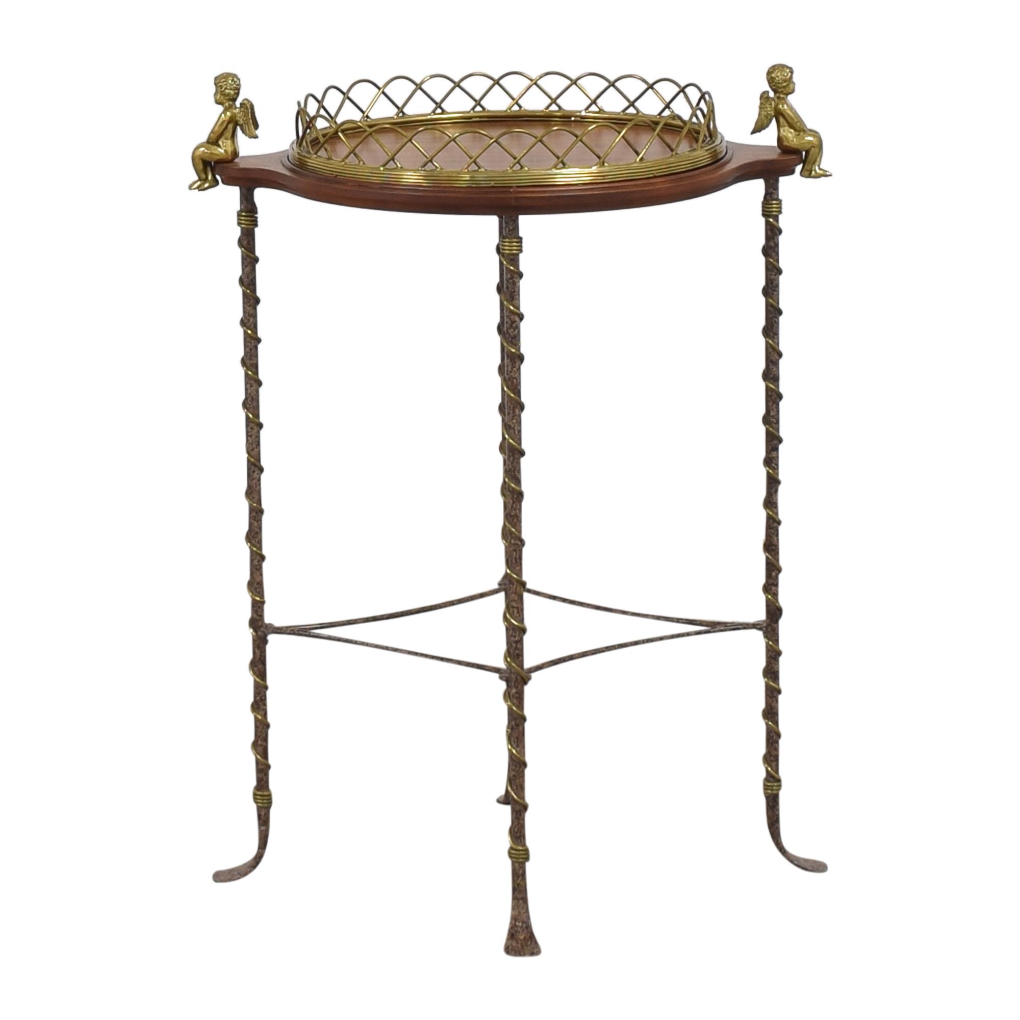 shop La Barge Cherub Side Table La Barge Tables