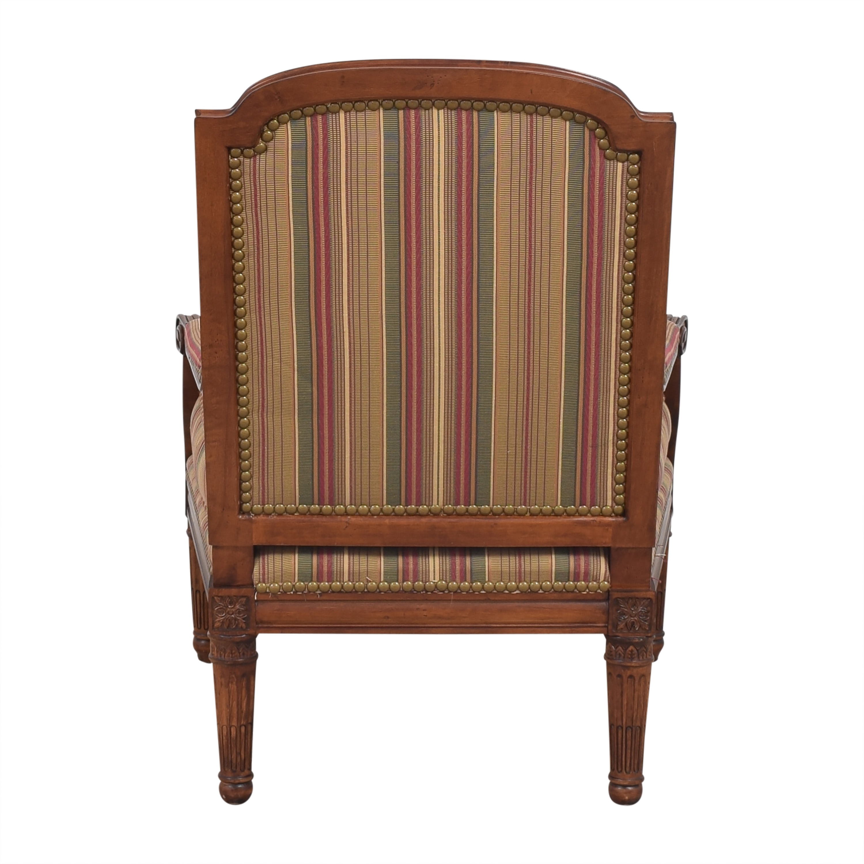 Century Furniture Century Furniture Striped Armchair price