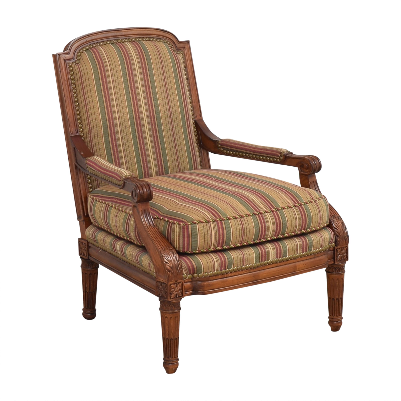 Century Furniture Century Furniture Striped Armchair nj