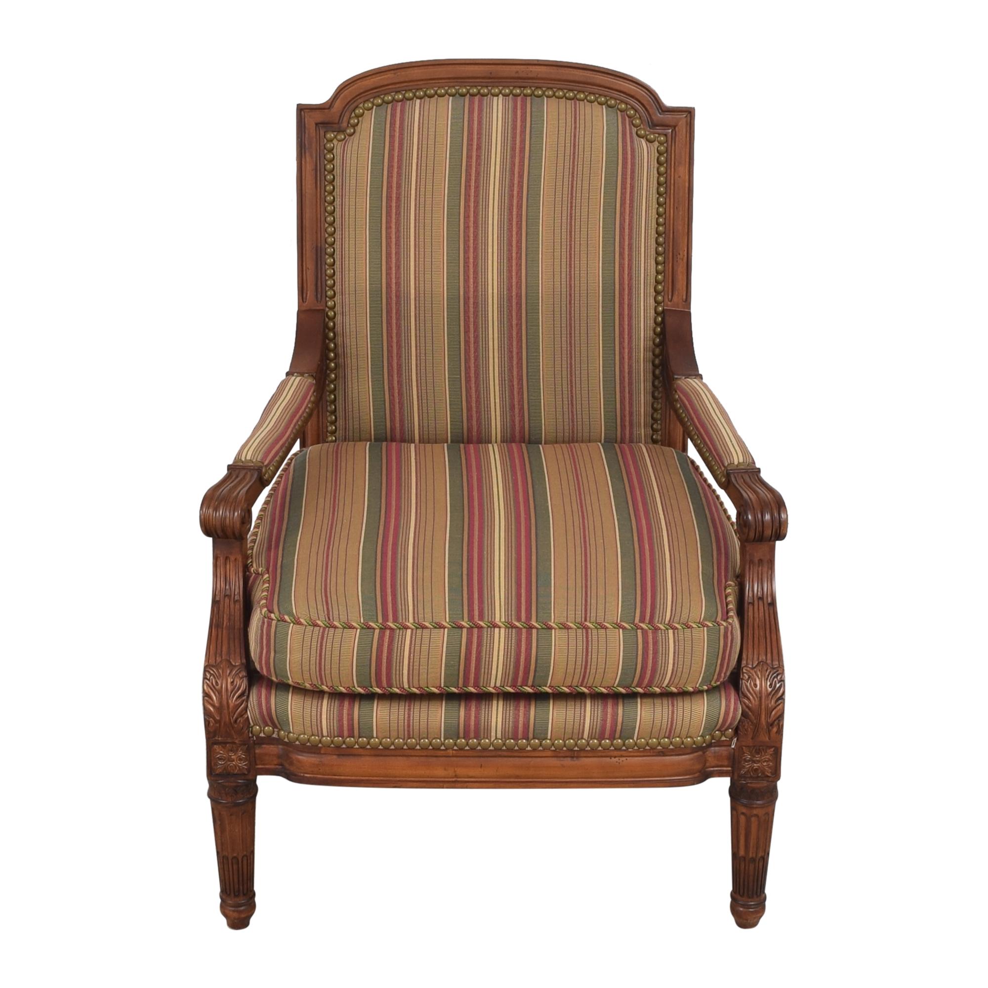 buy Century Furniture Striped Arm Chair Century Furniture