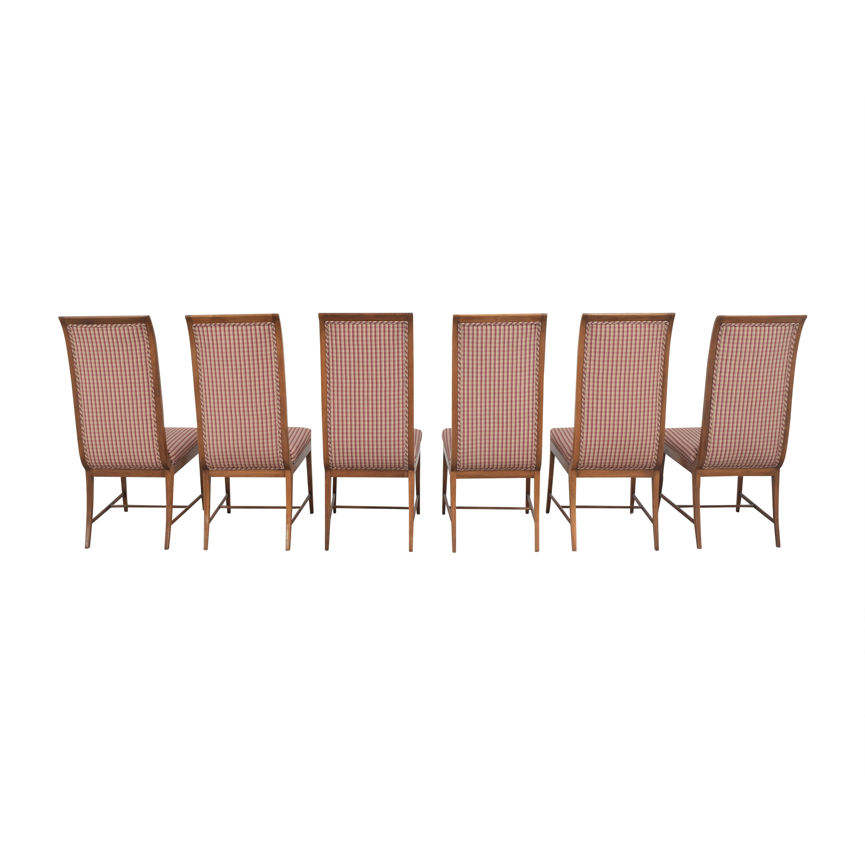 Baker Furniture Baker Furniture High Back Dining Chairs dimensions