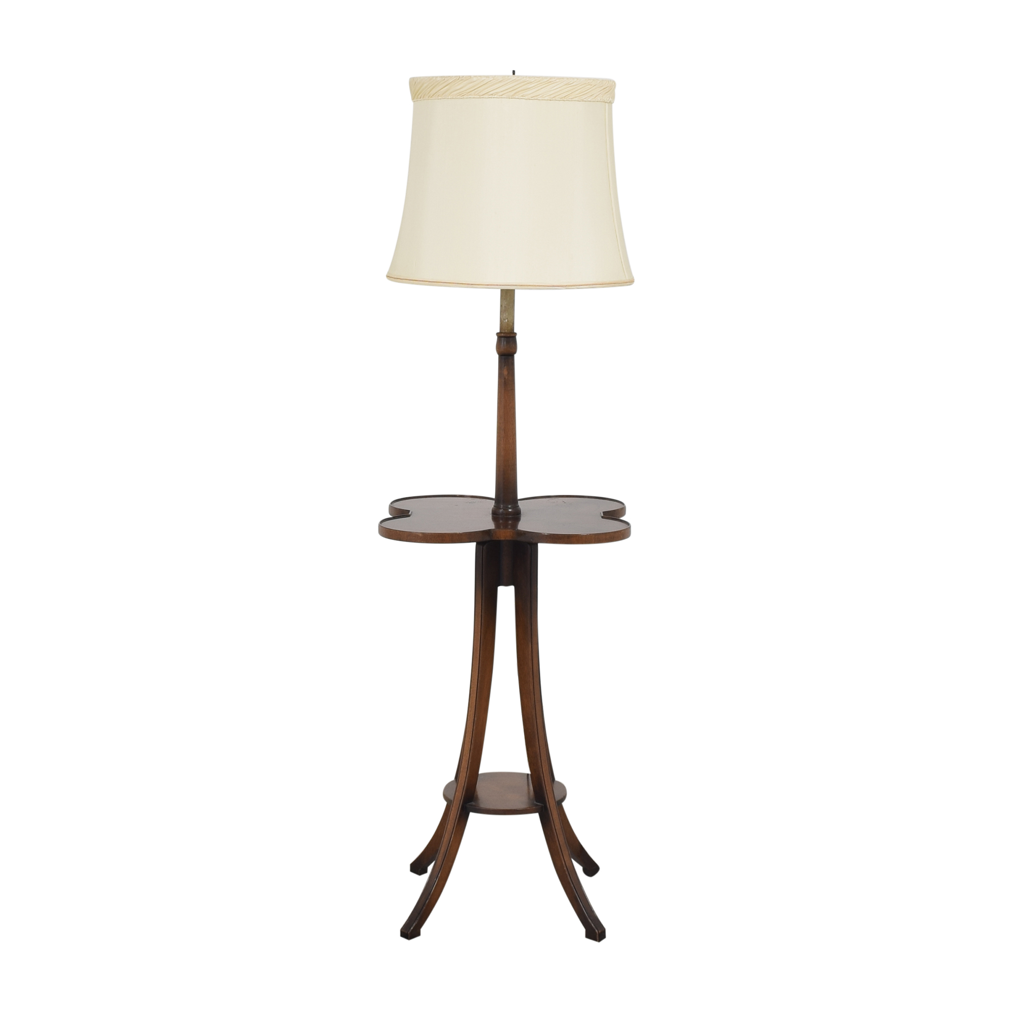buy Quatrefoil Table Floor Lamp  Decor