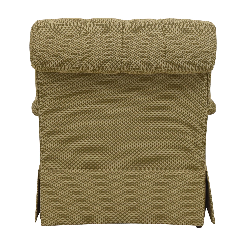 Henredon Furniture Henredon Furniture Scroll Back Accent Chair pa
