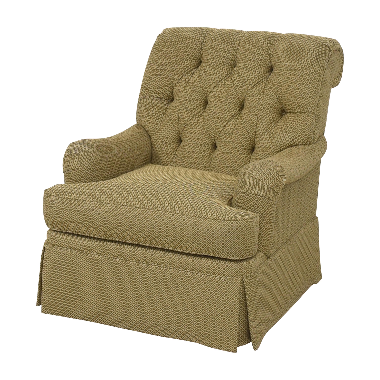 shop Henredon Furniture Scroll Back Accent Chair Henredon Furniture Accent Chairs