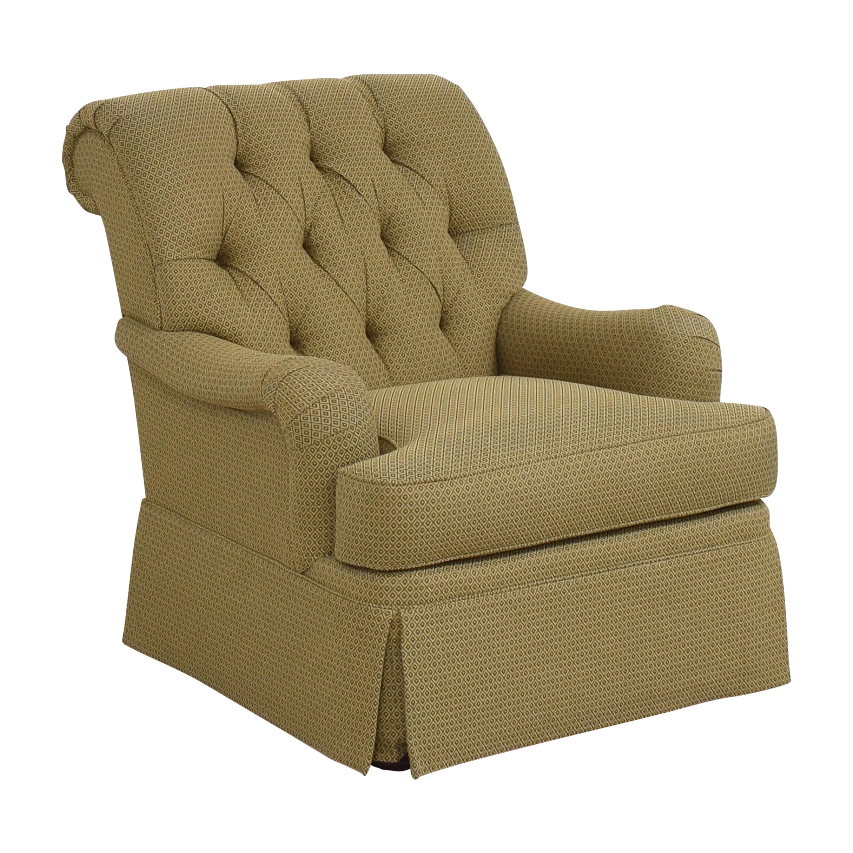 Henredon Furniture Henredon Furniture Scroll Back Accent Chair