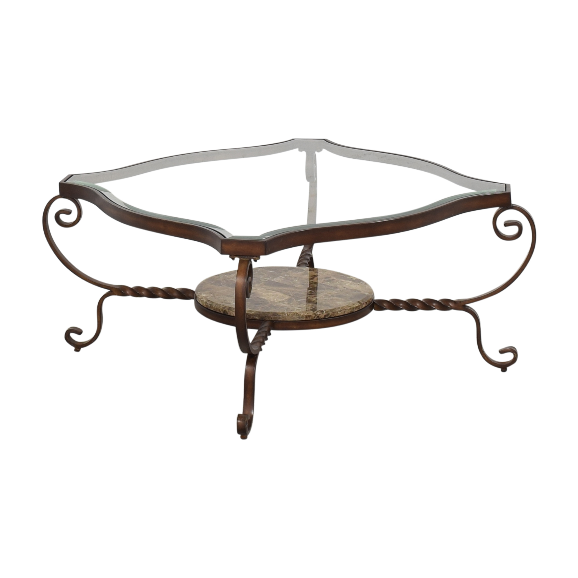 Decorative Cocktail Table used