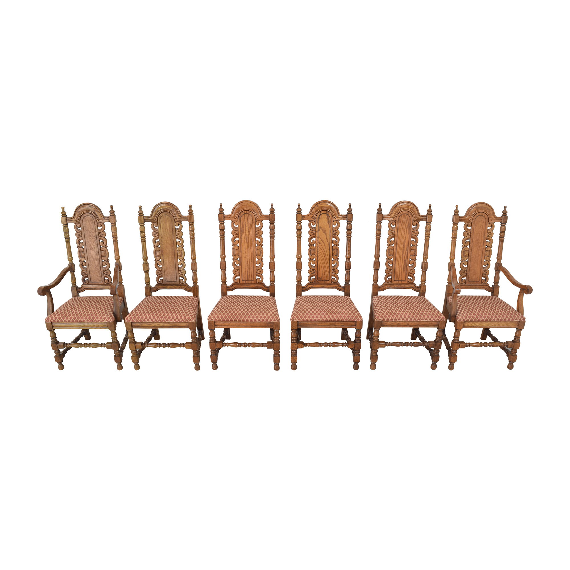 Link-Taylor Link-Taylor High Back Dining Chairs for sale