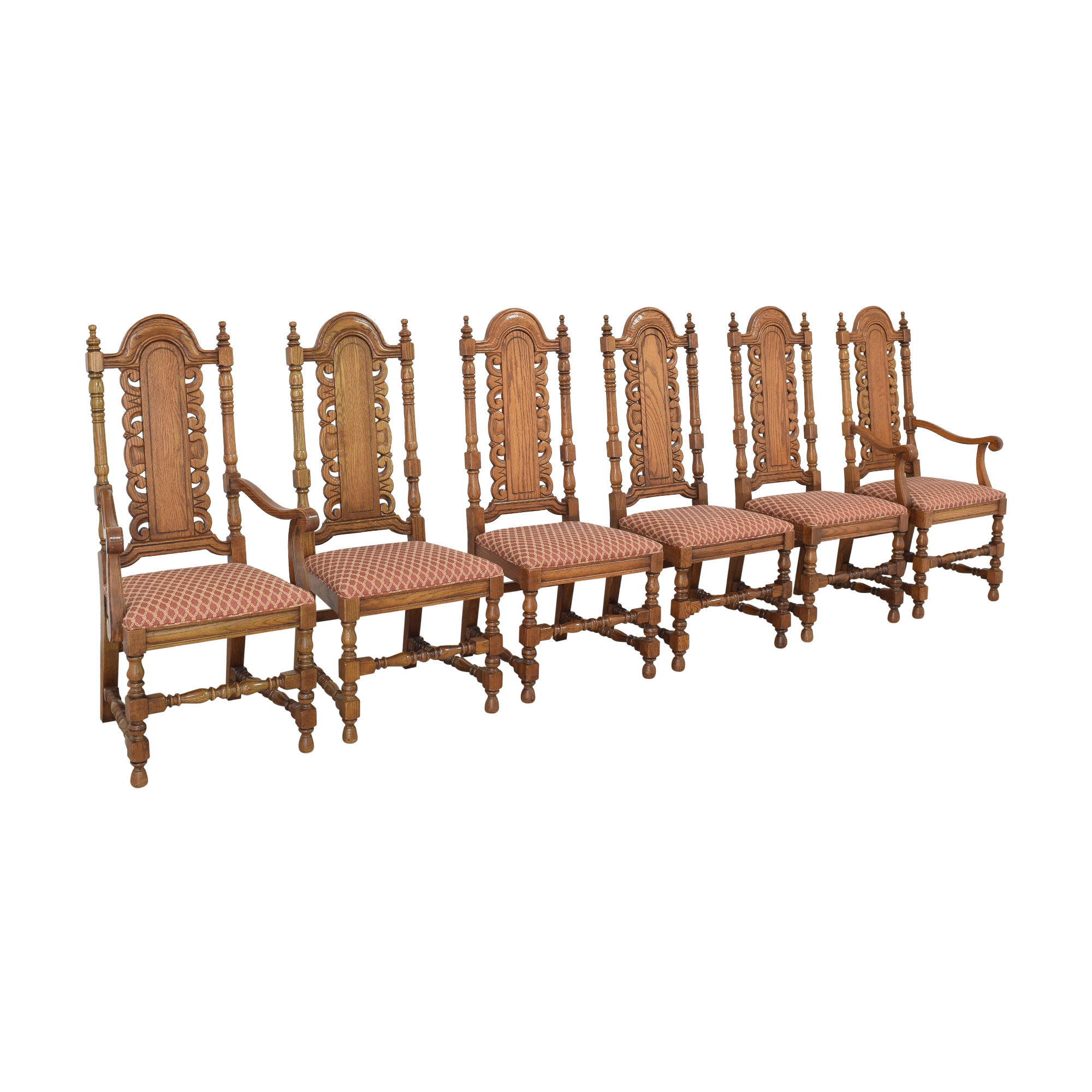 Link-Taylor Link-Taylor High Back Dining Chairs used