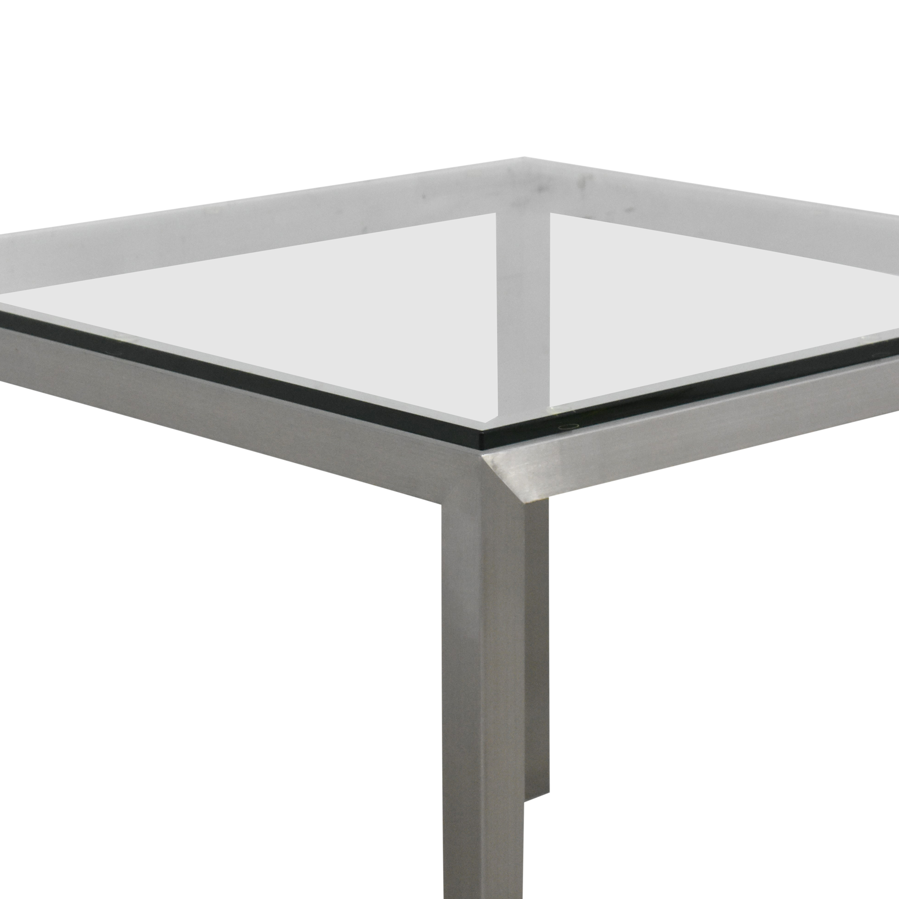 Crate & Barrel Crate & Barrel Parsons Square Dining Table discount