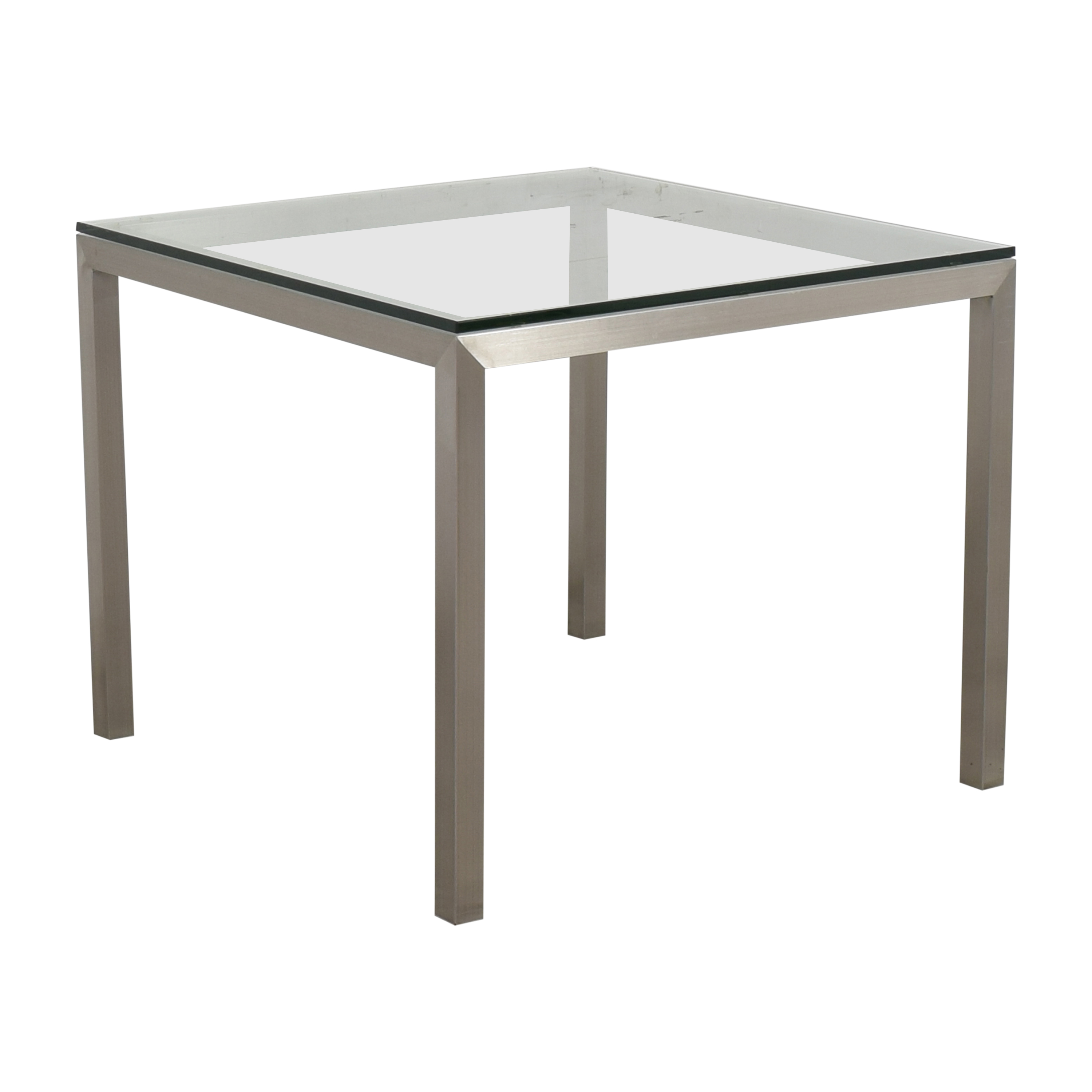 Crate & Barrel Parsons Square Dining Table / Dinner Tables