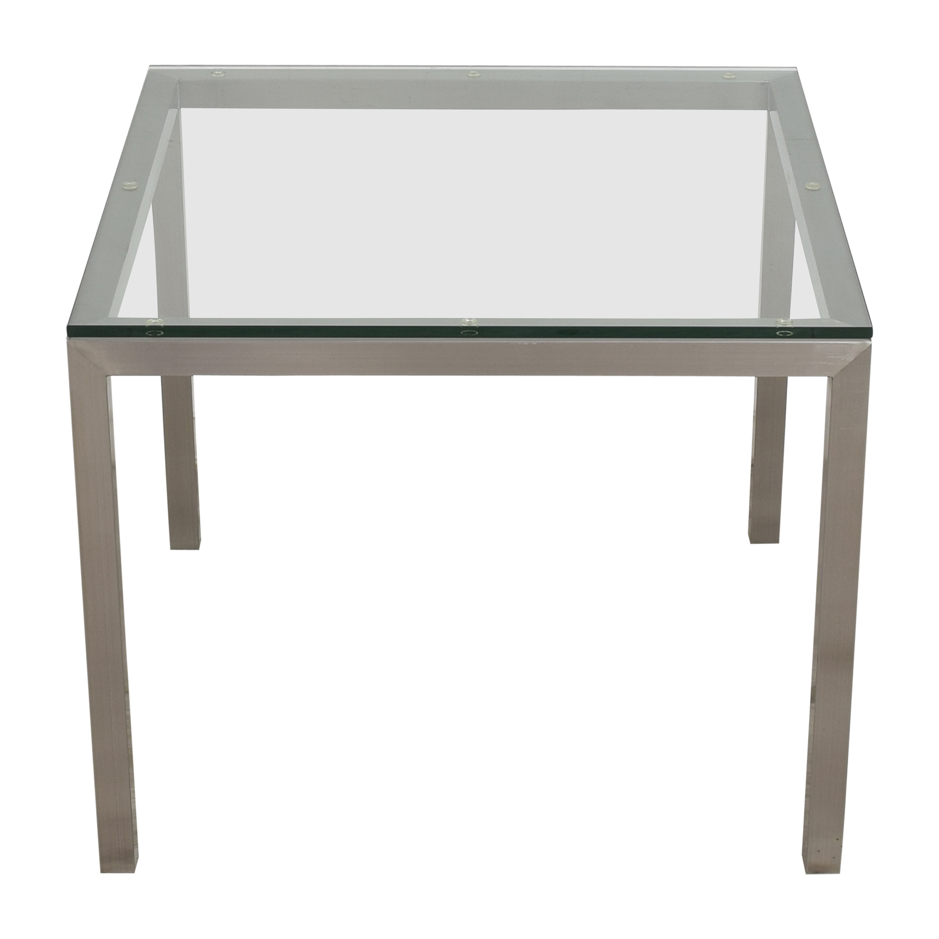 Crate & Barrel Crate & Barrel Parsons Square Dining Table ct