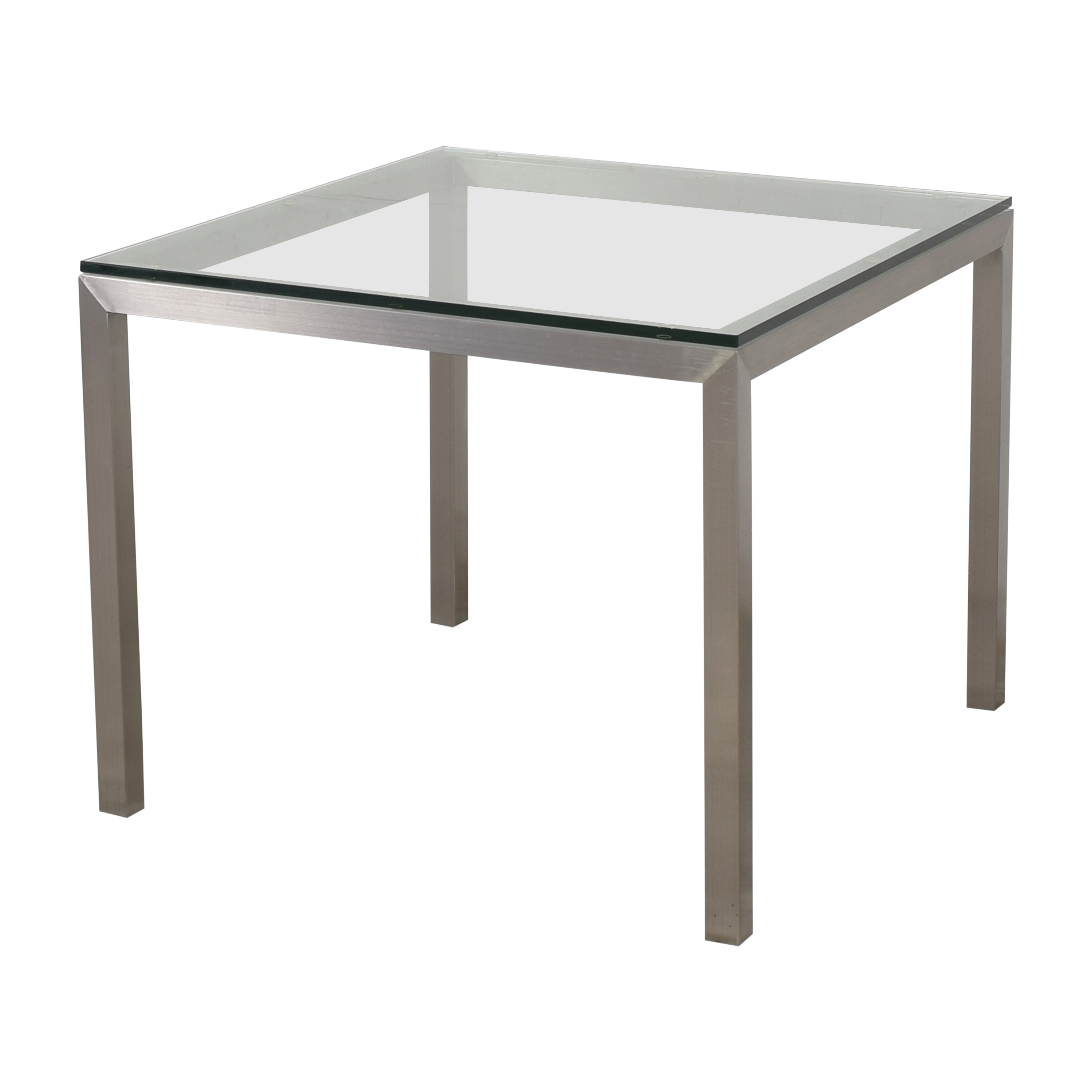 Crate & Barrel Crate & Barrel Parsons Square Dining Table for sale
