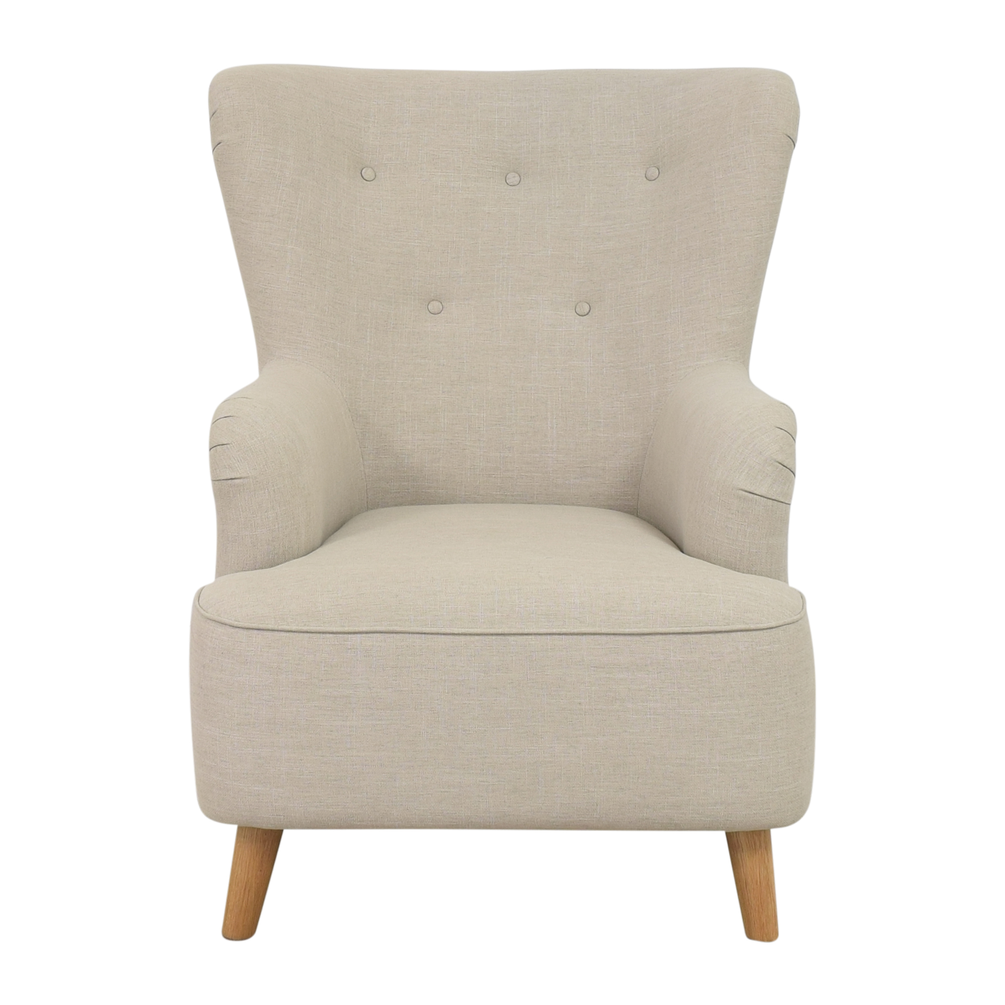 One Kings Lane Wing Back Chair One Kings Lane