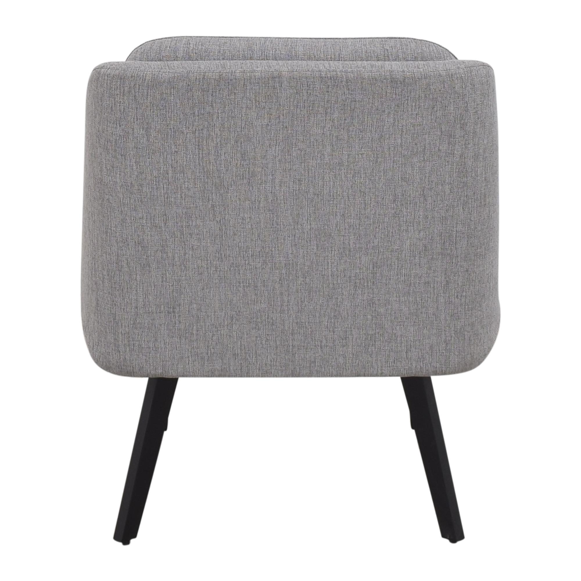 shop Interior Define Hana Slipper Chair Interior Define Accent Chairs