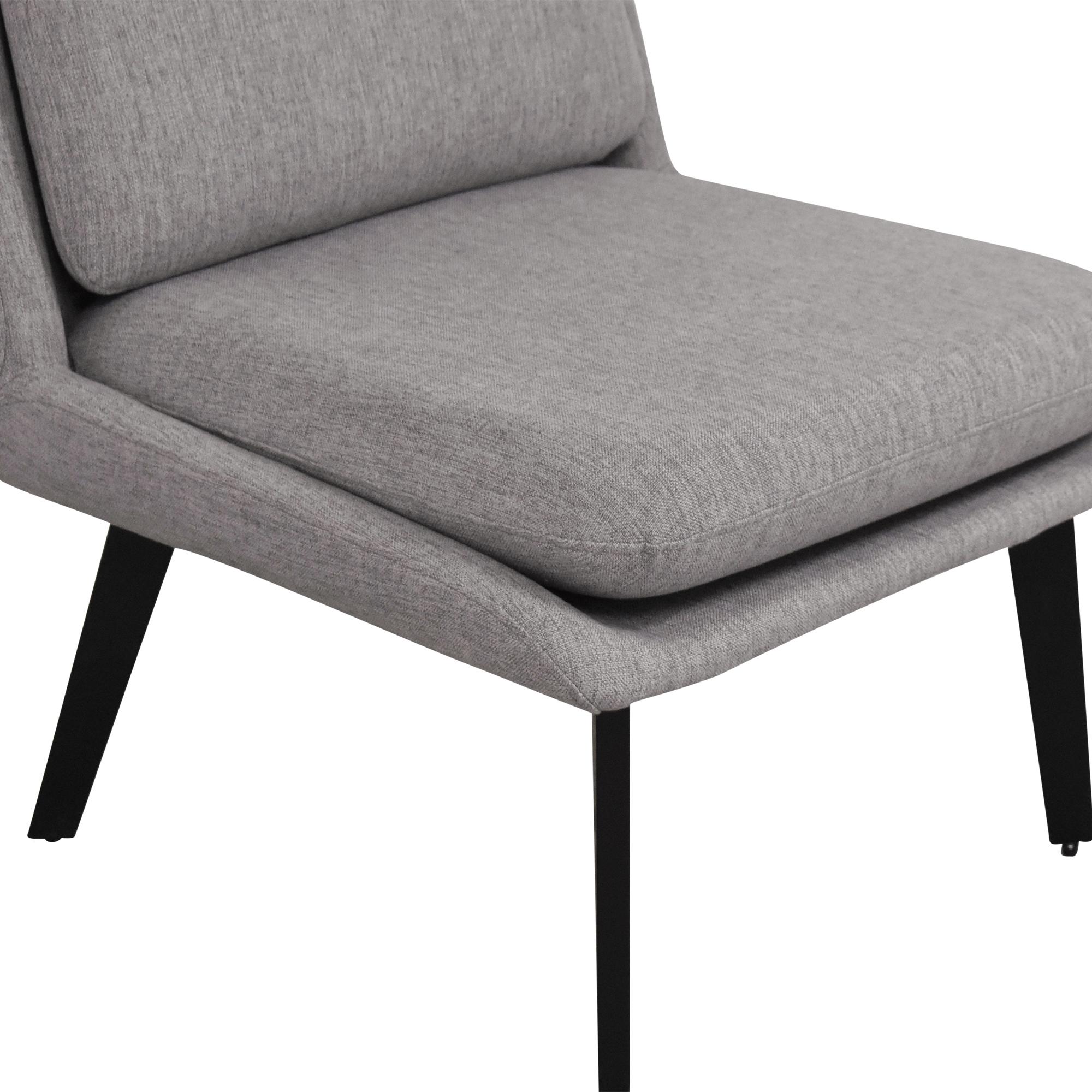 Interior Define Interior Define Hana Slipper Chair used