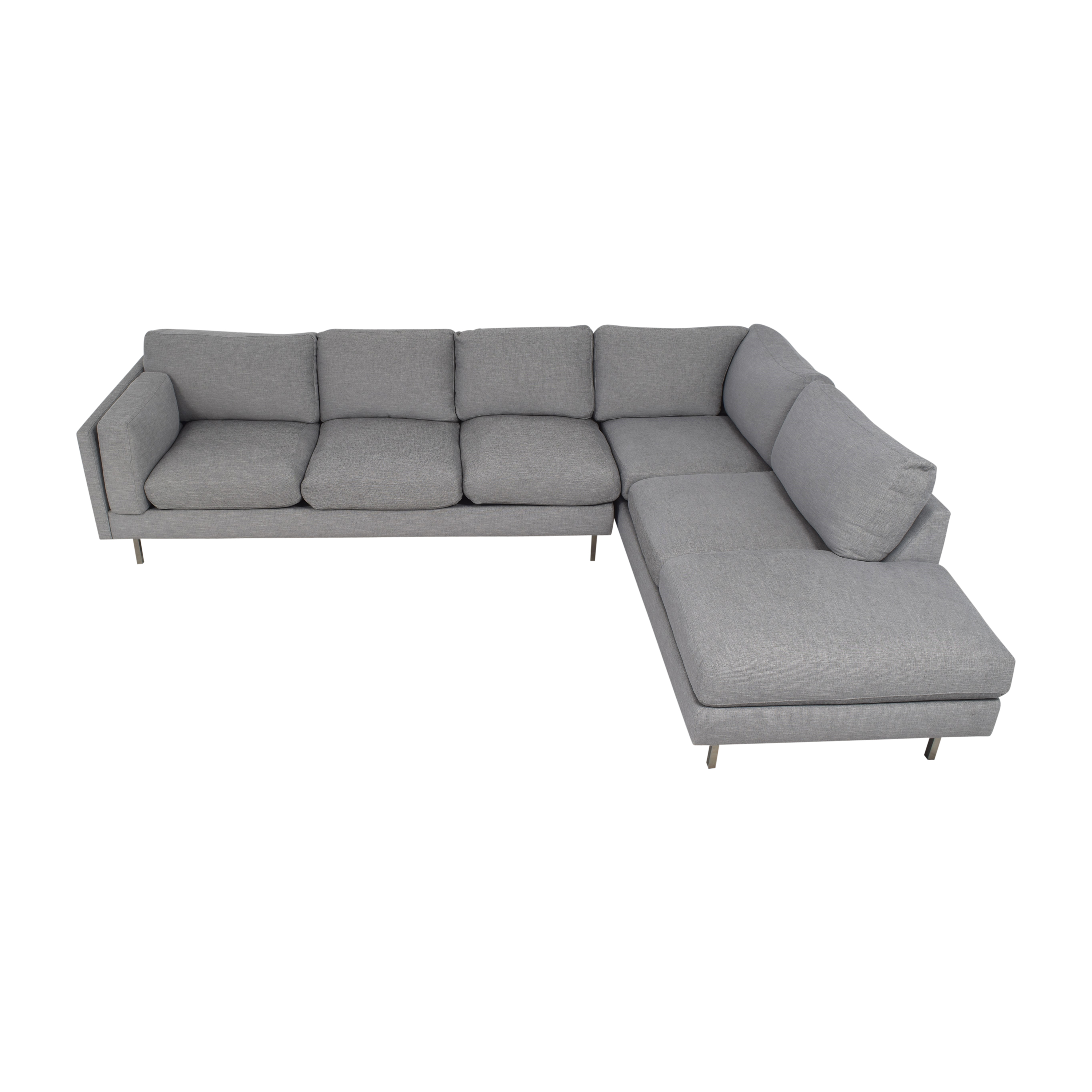 buy BenchMade Modern Skinny Fat Sectional With Bumper BenchMade Modern