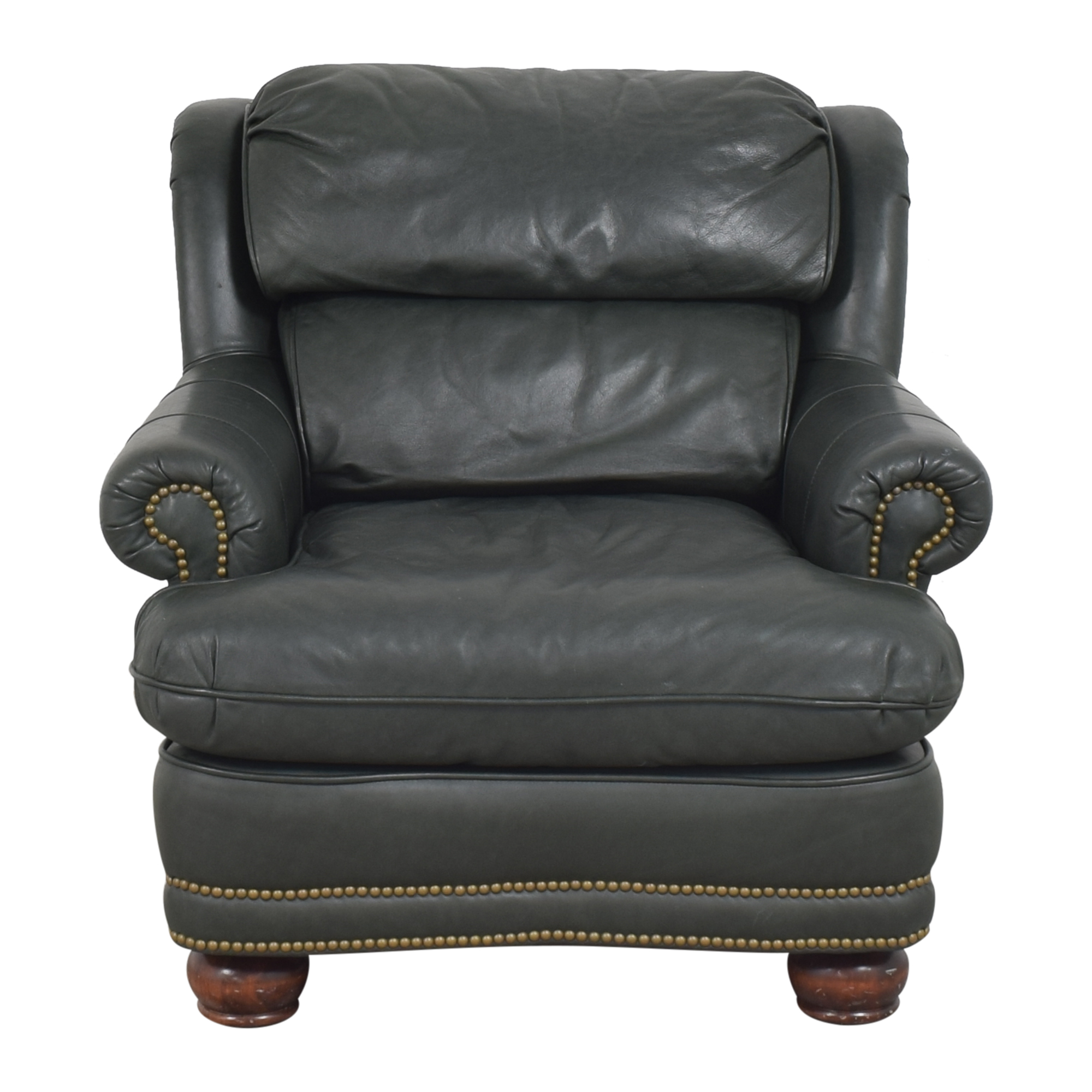 King Hickory Club Chair with Ottoman King Hickory