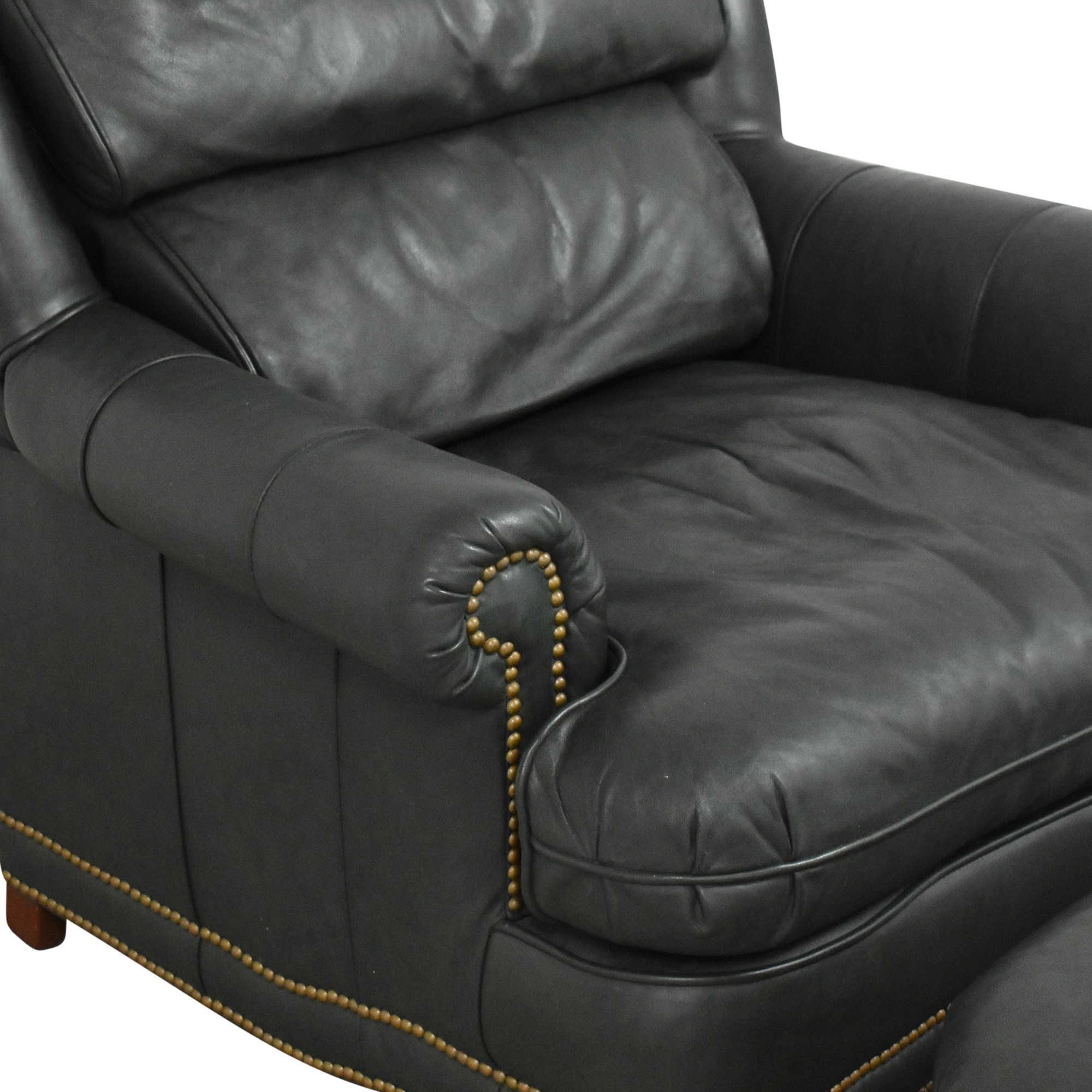 King Hickory King Hickory Club Chair with Ottoman on sale