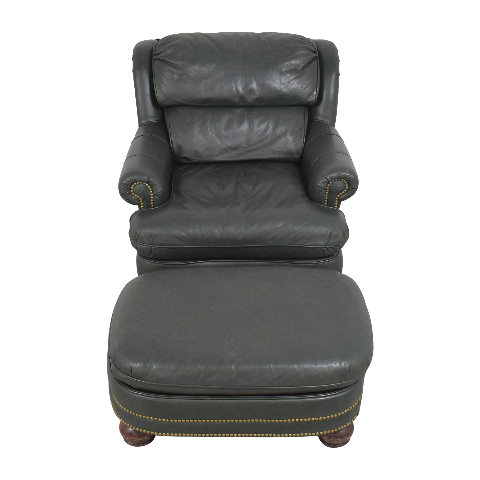 buy King Hickory Club Chair with Ottoman King Hickory