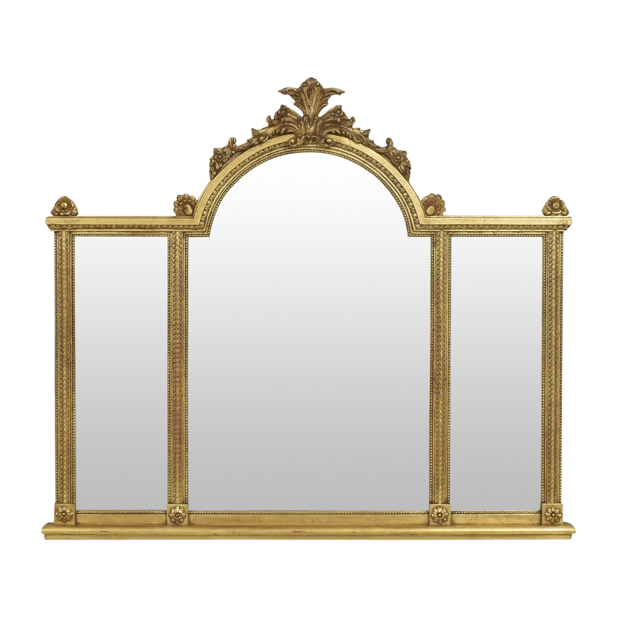 La Barge La Barge Ornate Three Panel Mirror nj