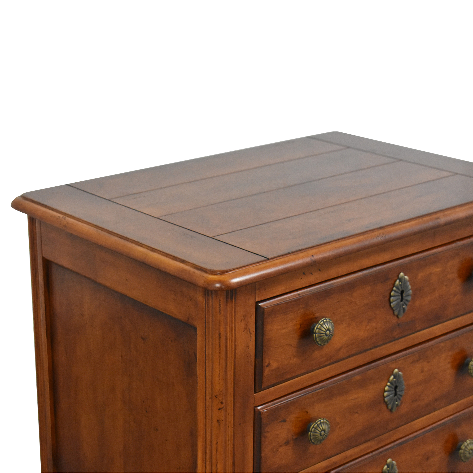 shop Hickory White Three Drawer End Table Hickory White Tables