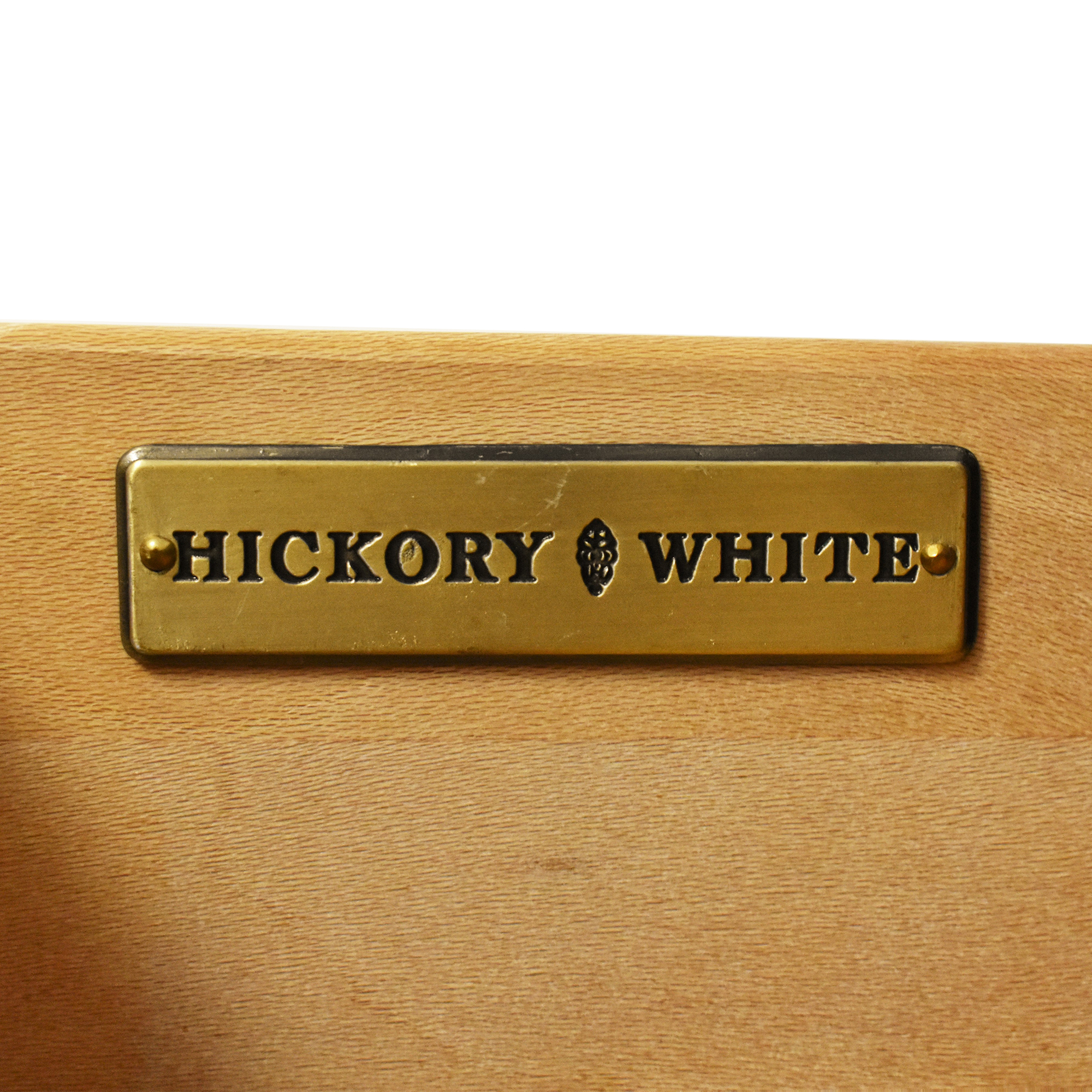 Hickory White Hickory White Three Drawer End Table ma