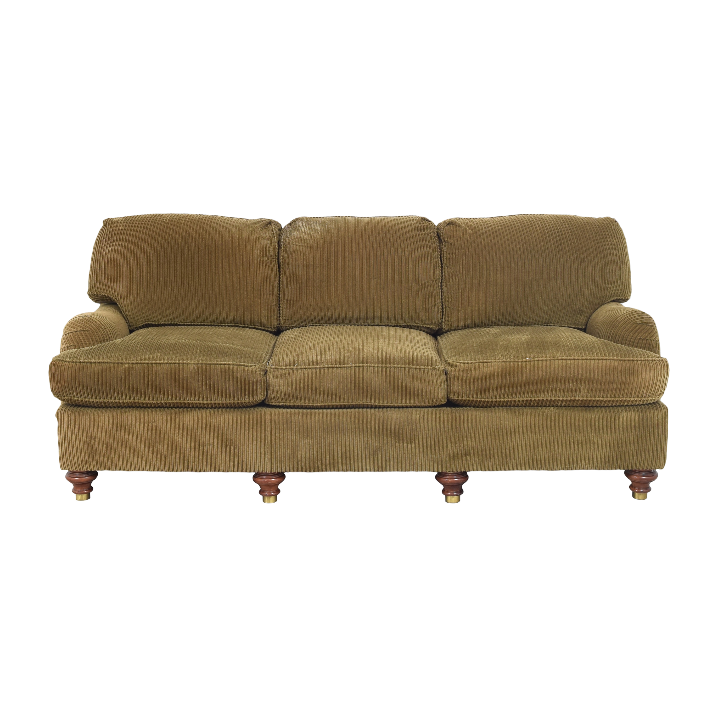 shop Taylor King Three Cushion Sofa Taylor King