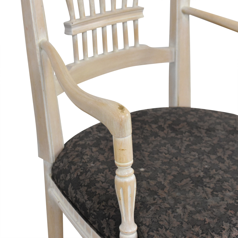 Sigla Sigla Wheat Back Dining Chairs for sale