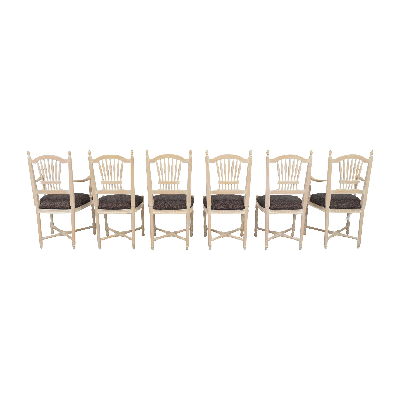 Sigla Sigla Wheat Back Dining Chairs nyc