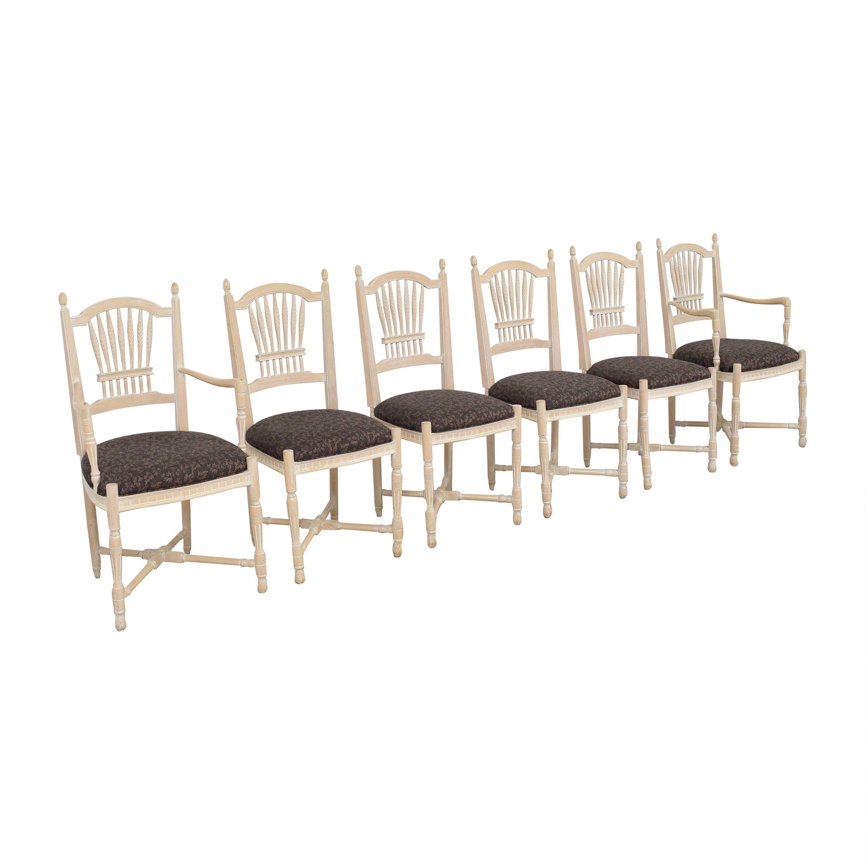 shop Sigla Wheat Back Dining Chairs Sigla