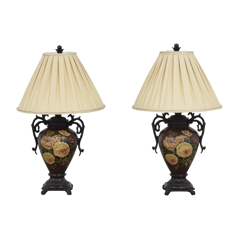 Domain Domain Floral Vase Table Lamps