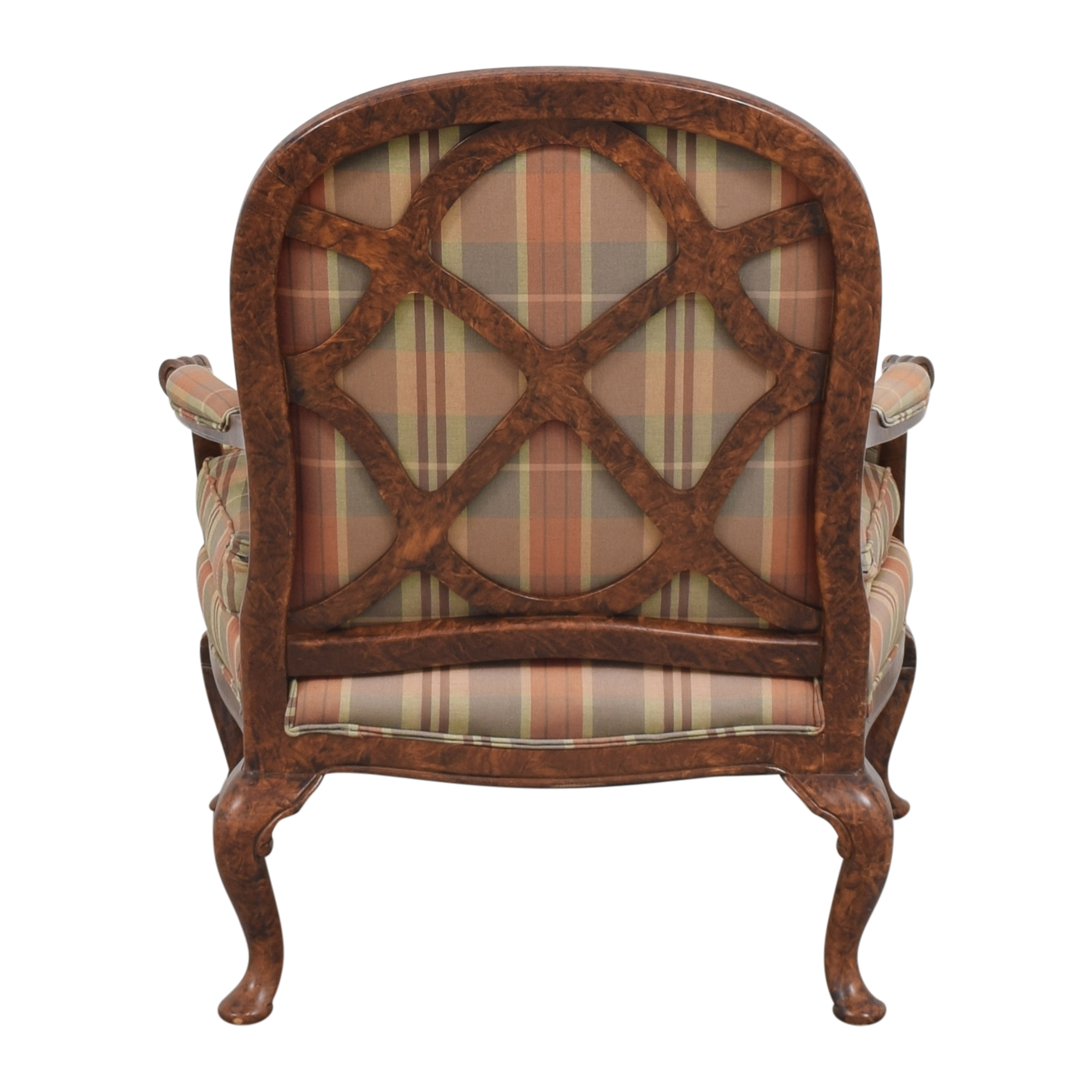 buy Taylor King Plaid Accent Chair Taylor King Accent Chairs