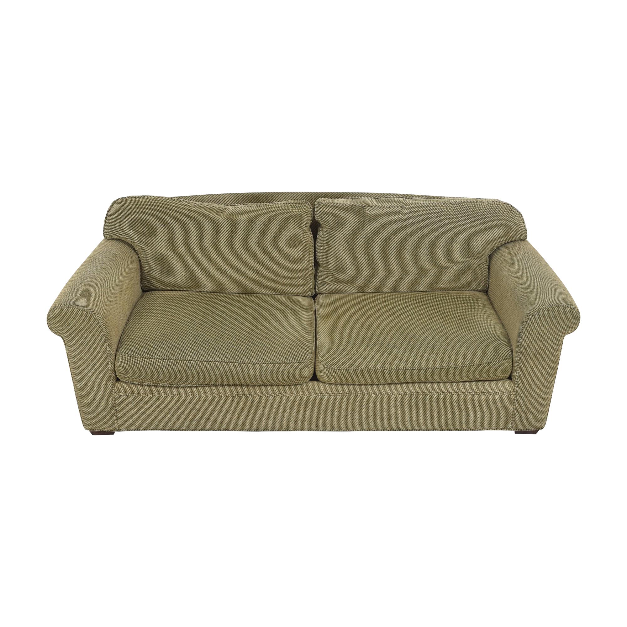 Crate & Barrel Crate & Barrel Two Cushion Sofa nyc