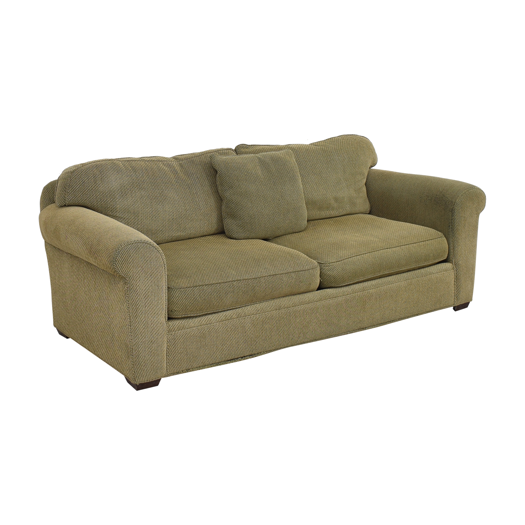 Crate & Barrel Two Cushion Sofa / Sofas