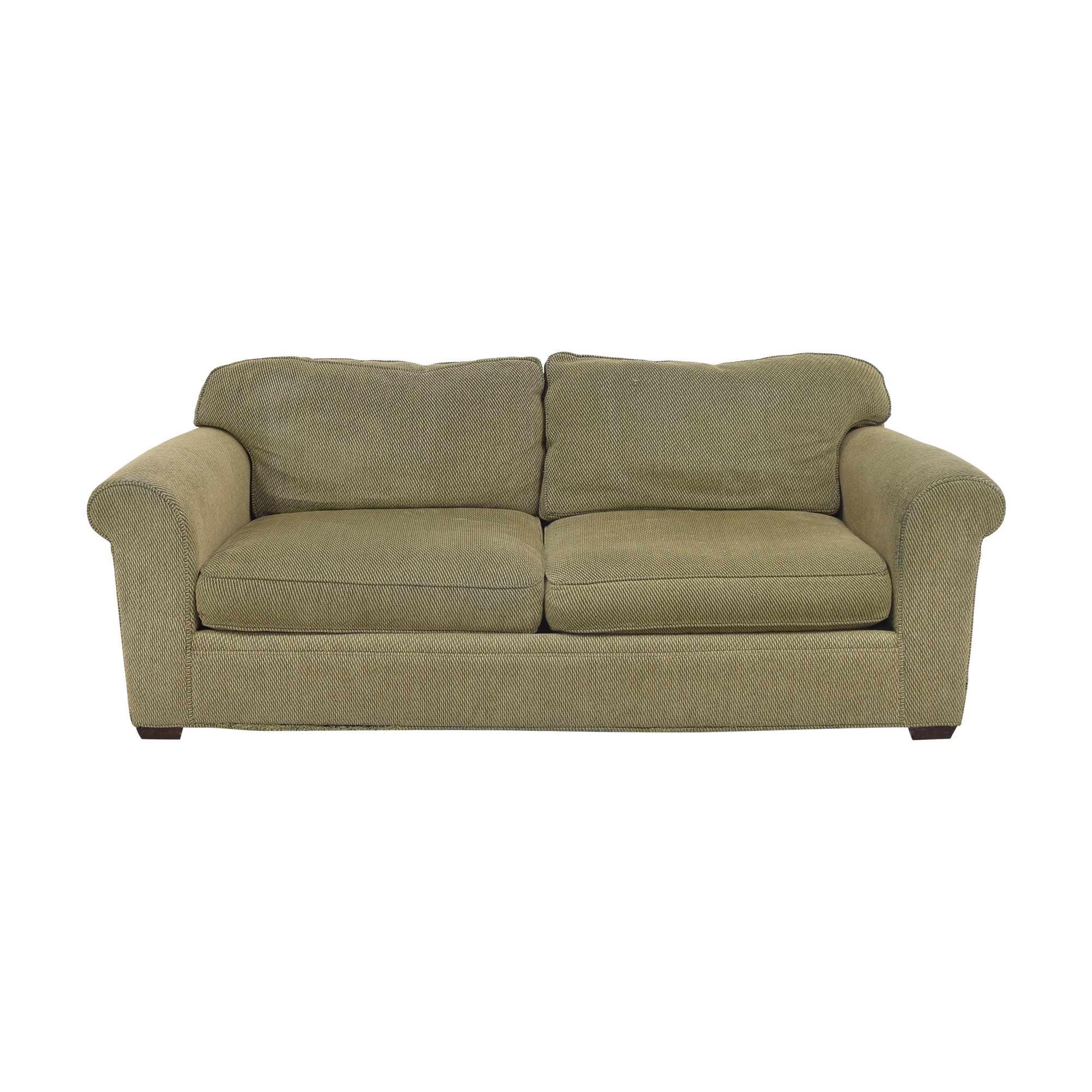 shop Crate & Barrel Two Cushion Sofa Crate & Barrel