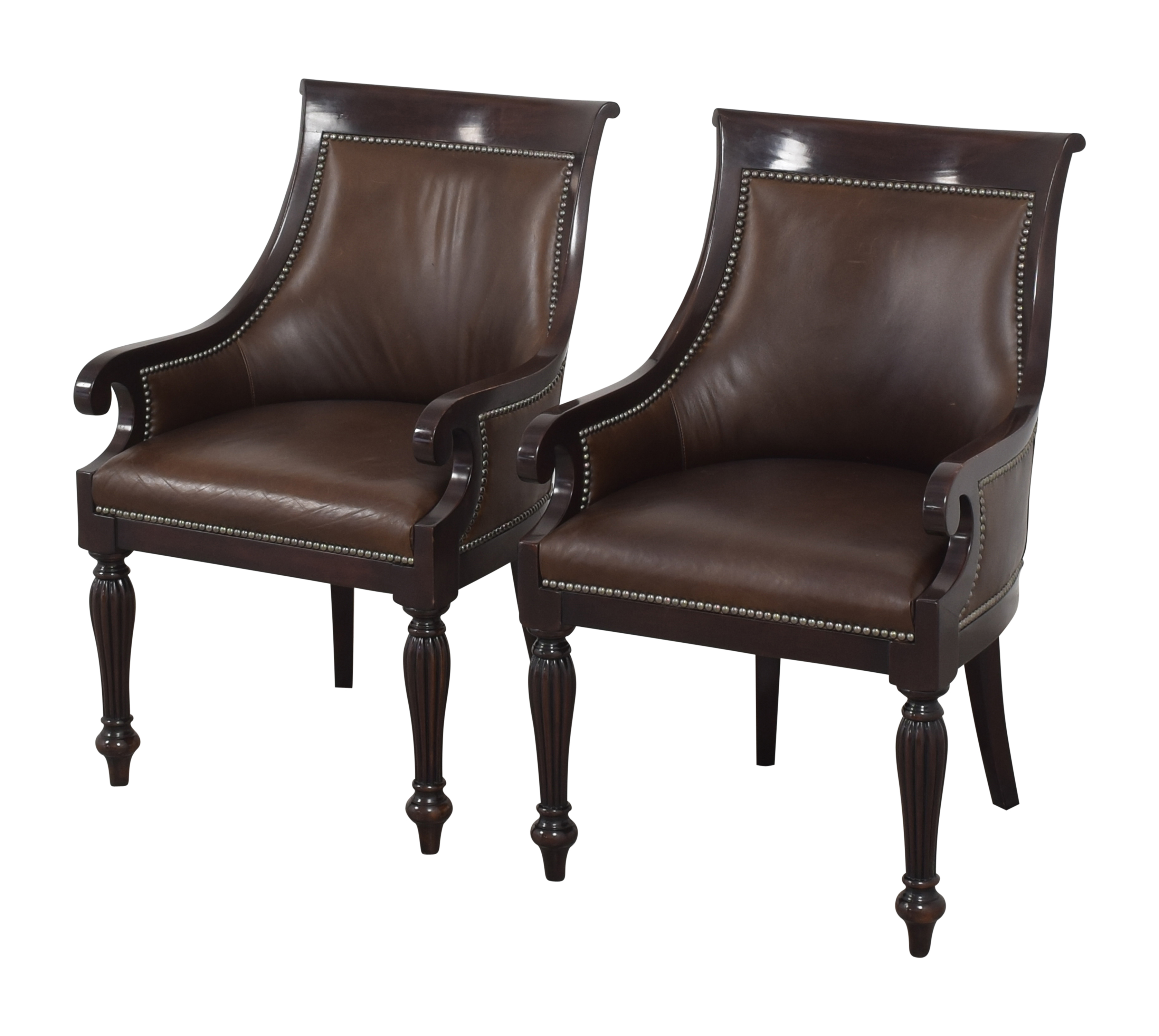 Ralph Lauren Home Ralph Lauren Home East Grand Dining Arm Chairs for sale