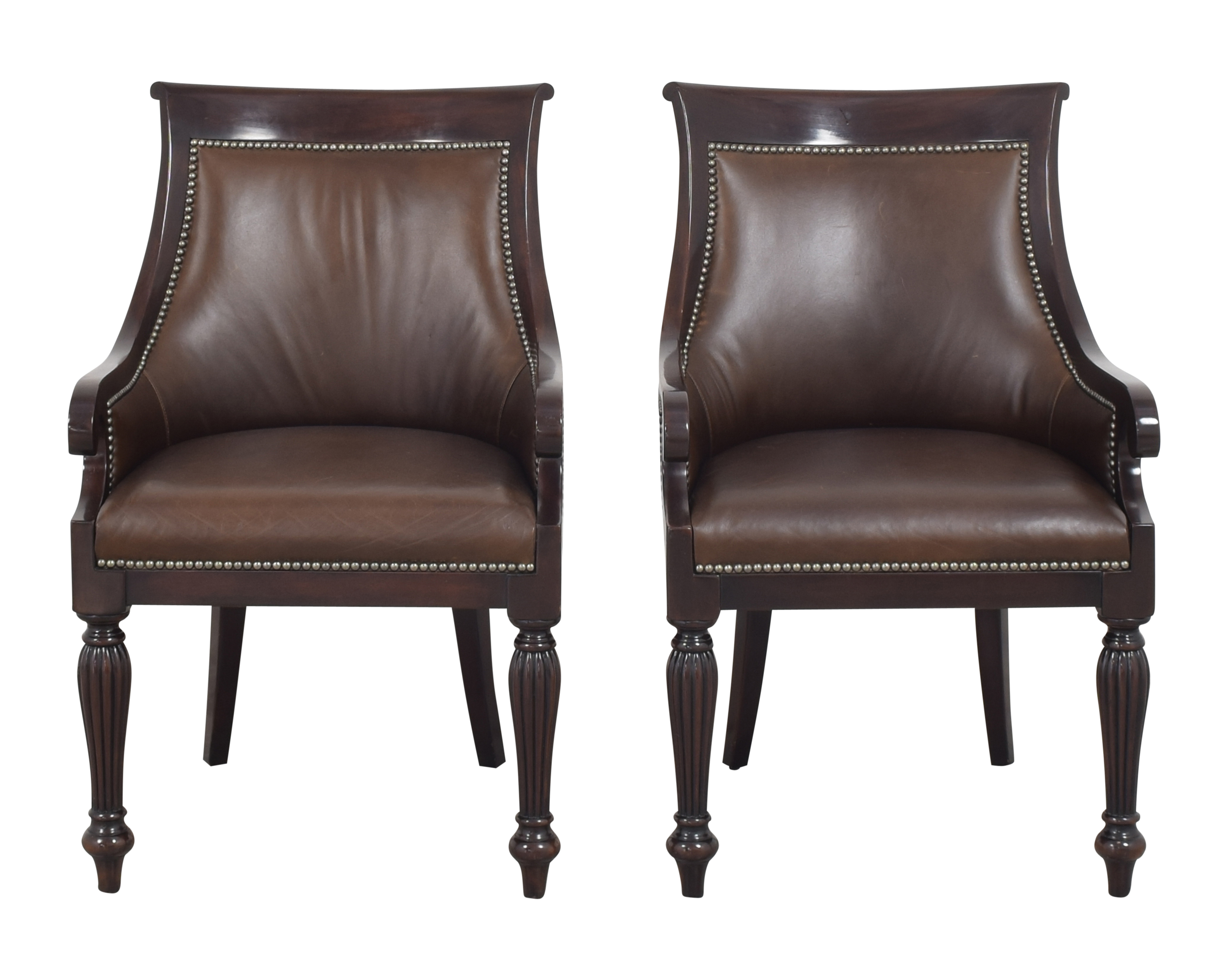 Ralph Lauren Home Ralph Lauren Home East Grand Dining Arm Chairs Dining Chairs