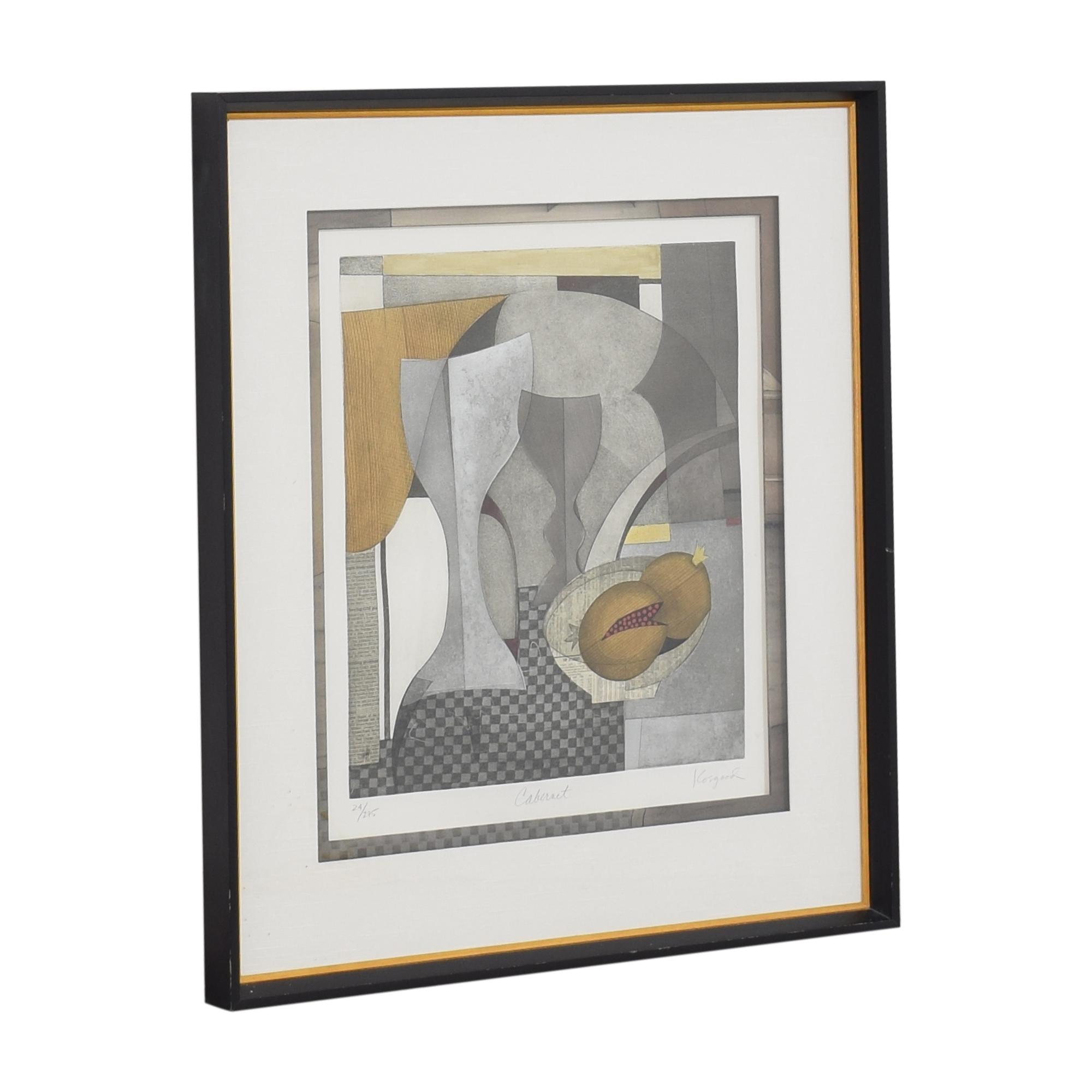 Ethan Allen Ethan Allen Framed Wall Art multi