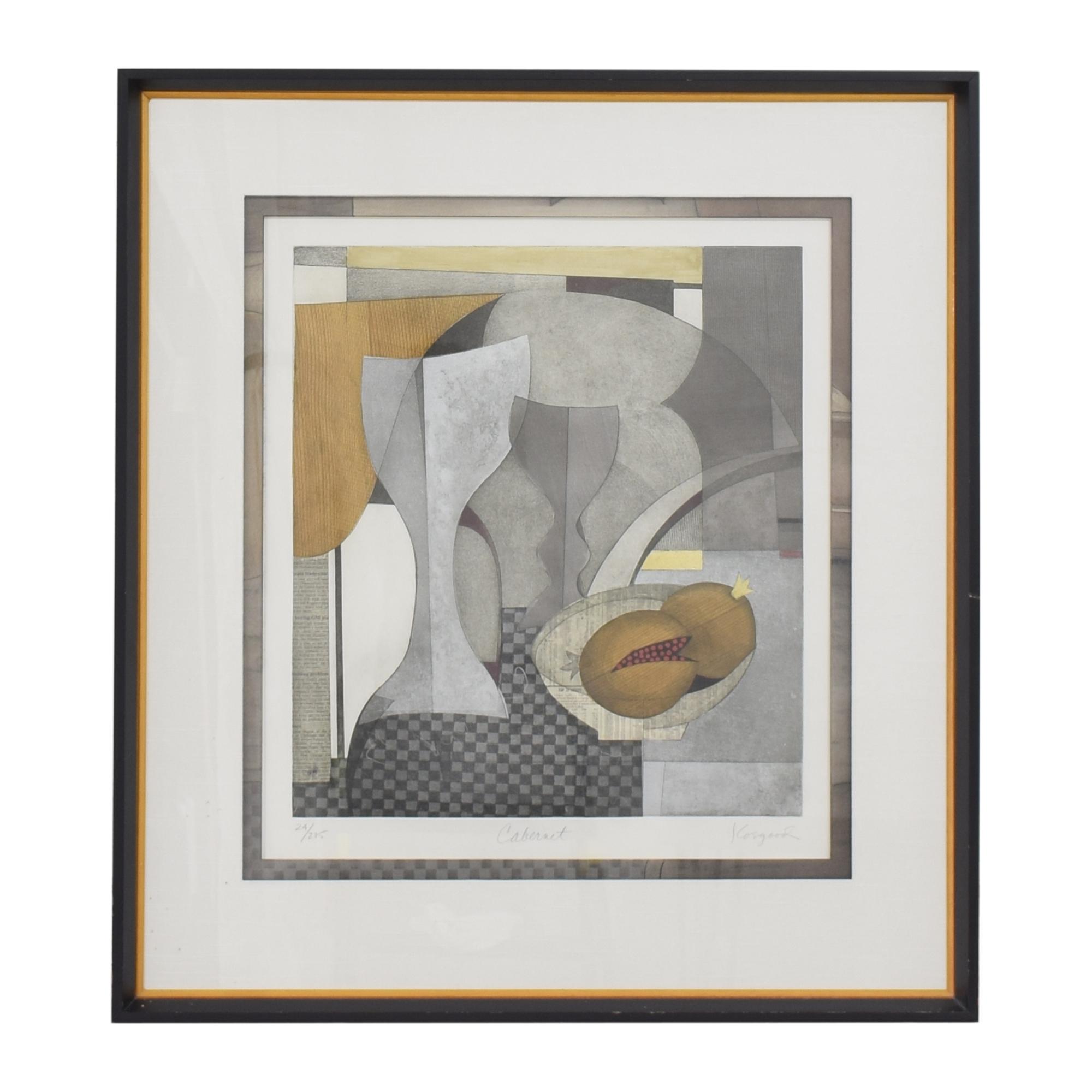 Ethan Allen Ethan Allen Framed Wall Art Wall Art