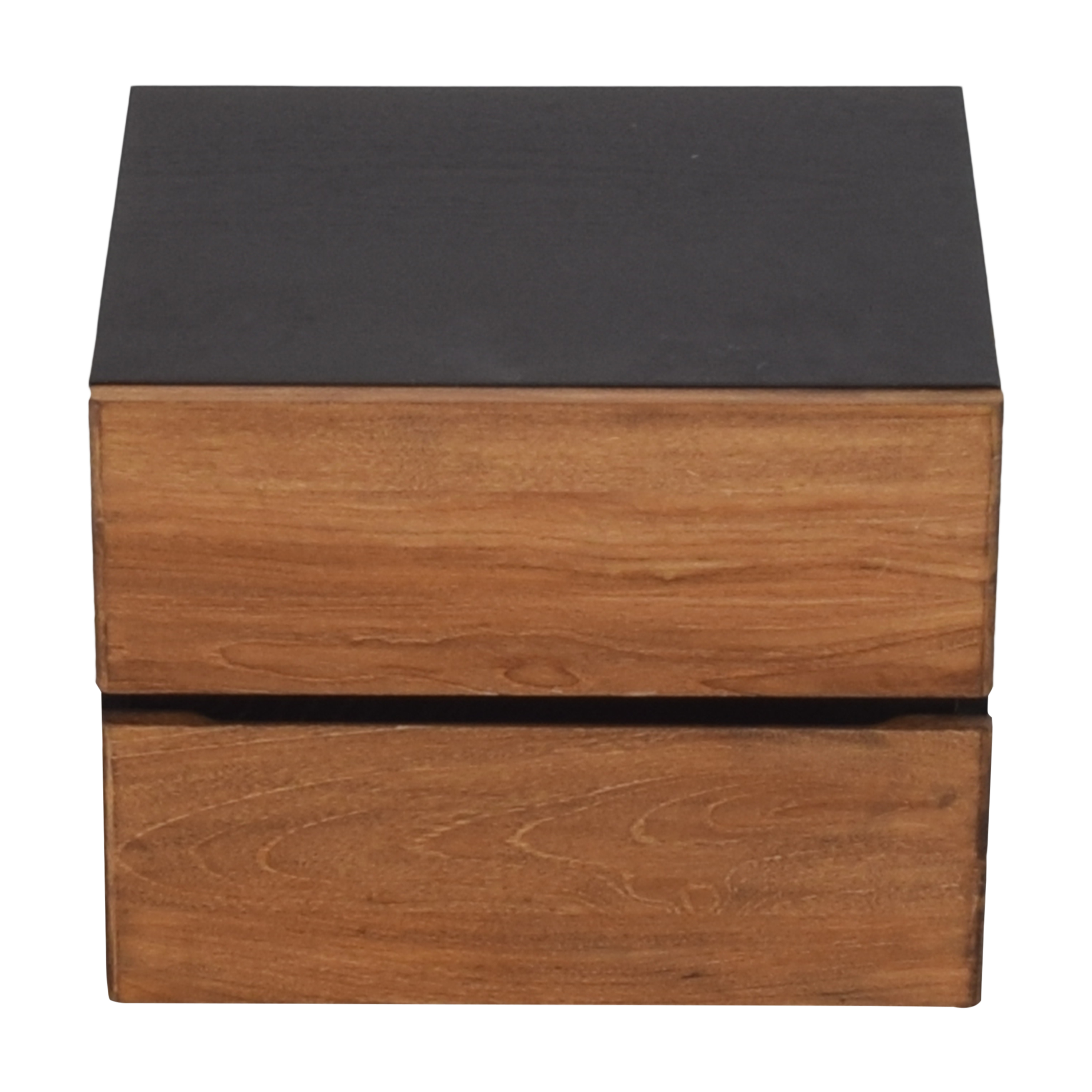 ABC Carpet & Home Two Tone Nightstand sale